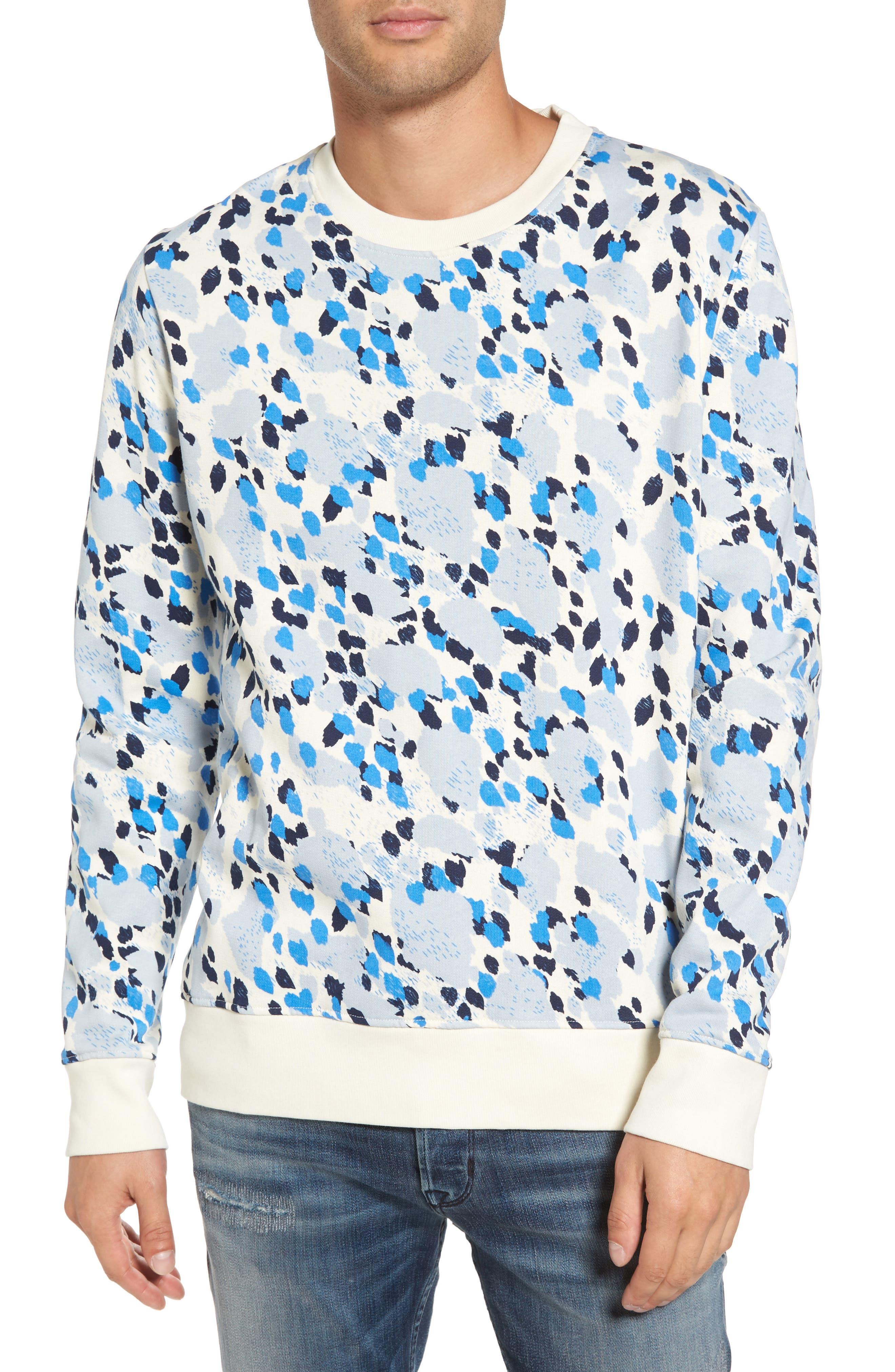 Alternate Image 1 Selected - WeSC Jima Animal Print Sweatshirt