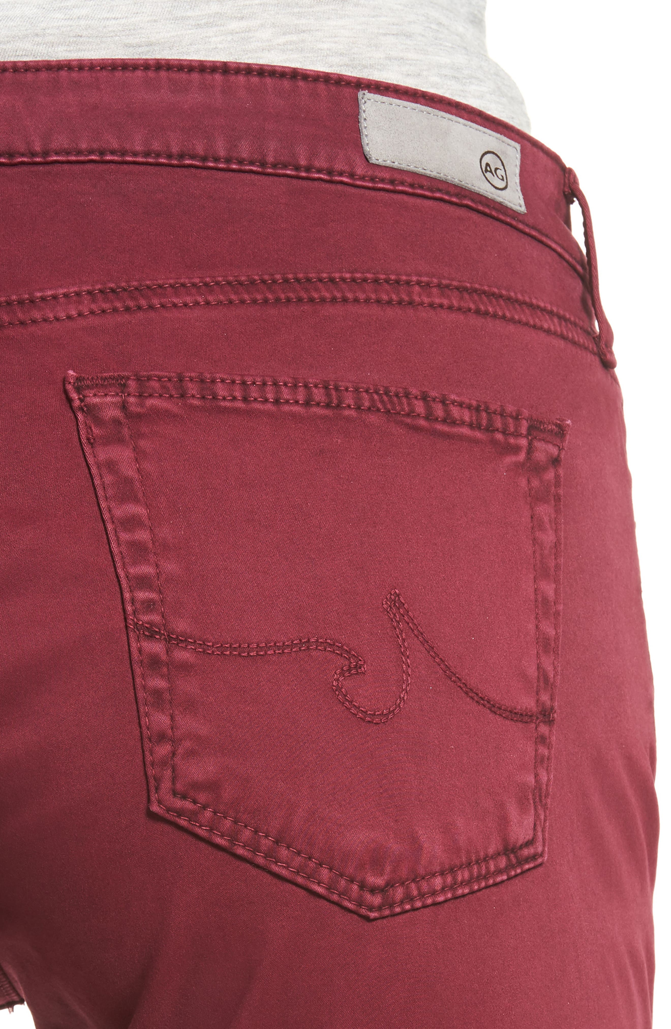 Alternate Image 4  - AG 'The Prima' Cigarette Leg Skinny Jeans
