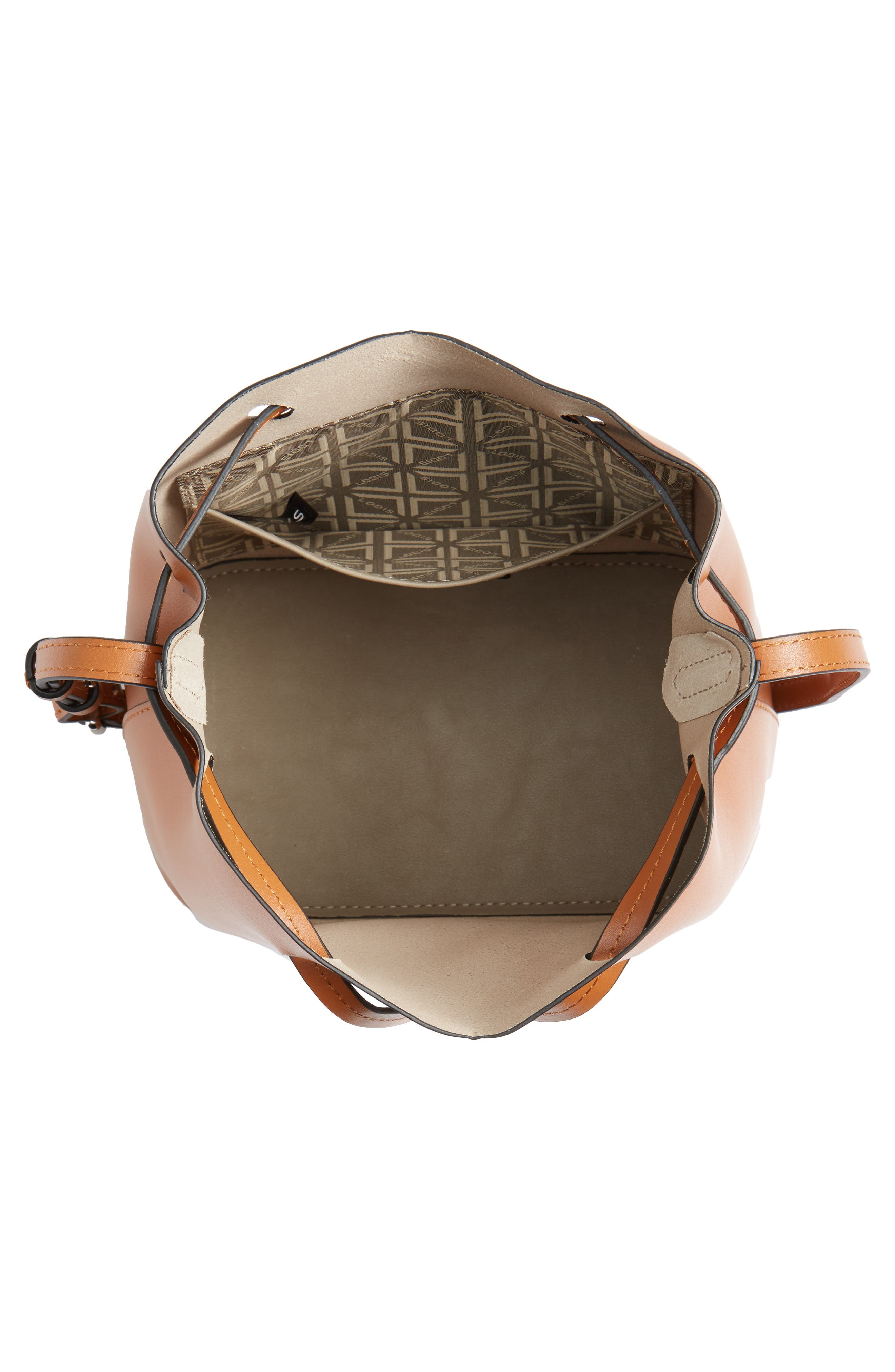 Alternate Image 4  - Lodis Small Silicon Valley Blake RFID Leather Bucket Bag