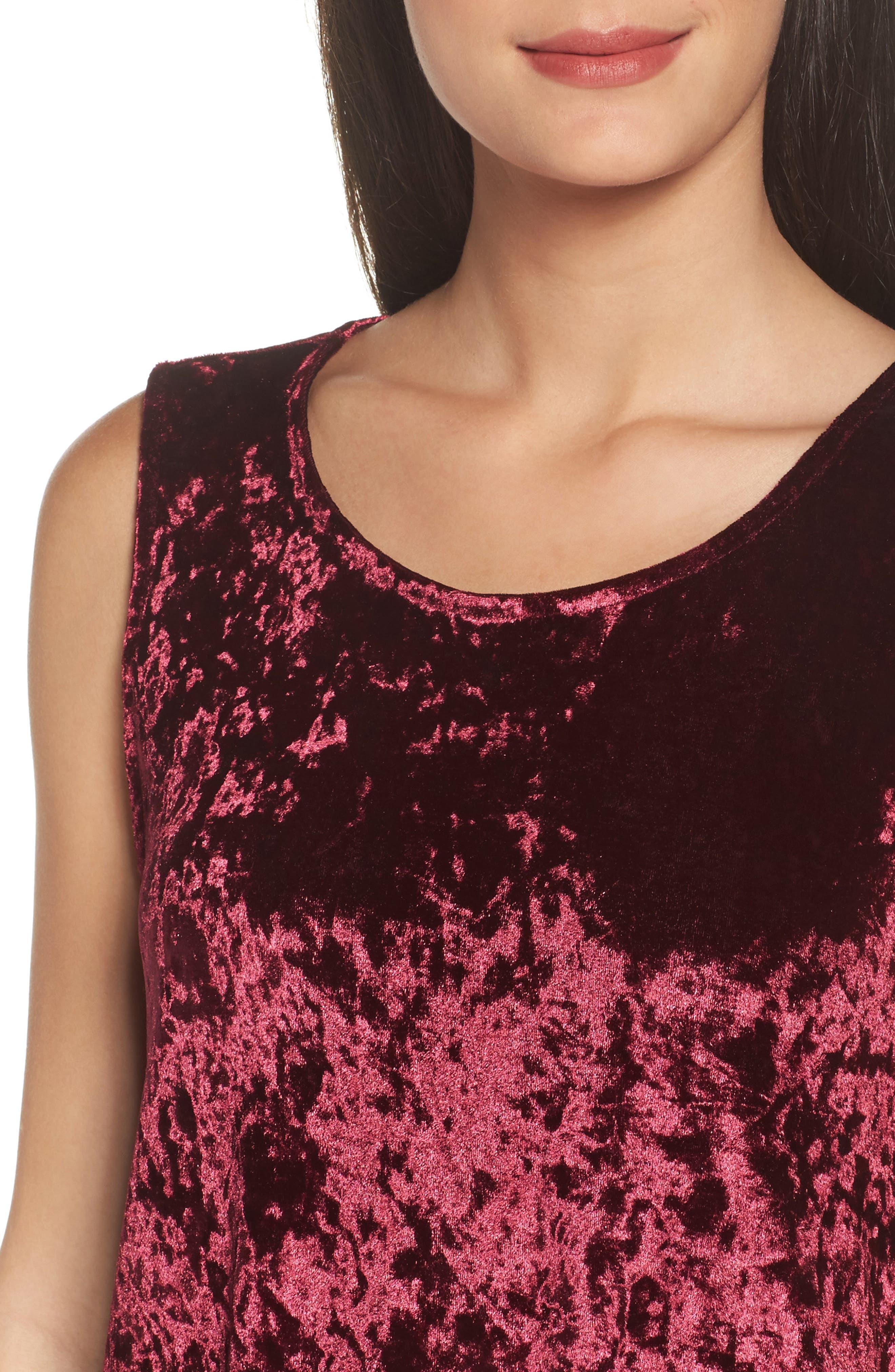 Alternate Image 4  - BB Dakota Crushed Velvet Shift Dress