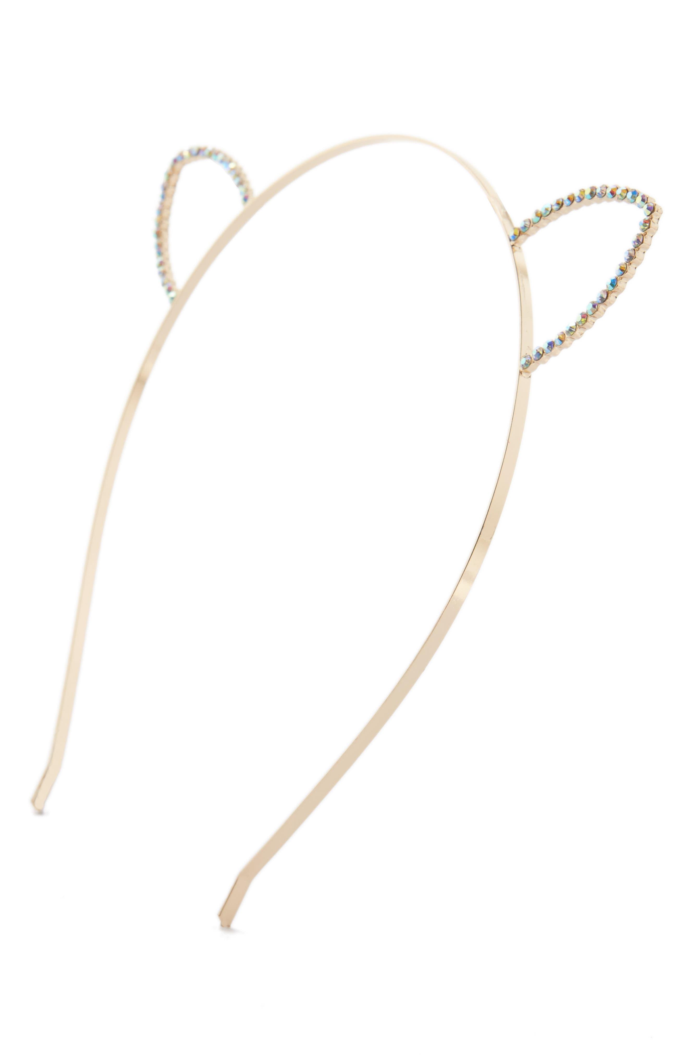 Shinhwa Crystal Cat Ear Headband