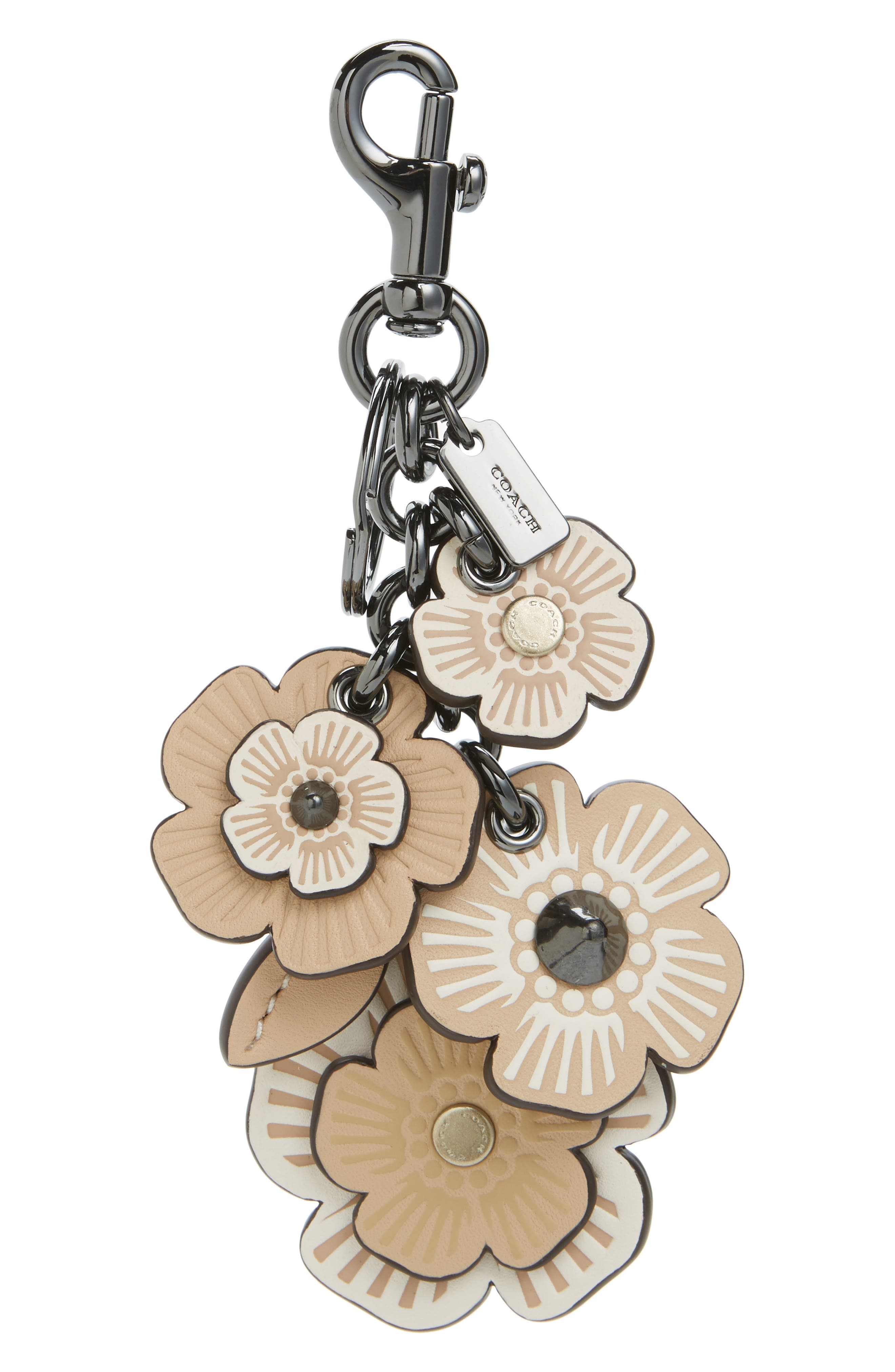 Alternate Image 1 Selected - COACH 1941 Willow Floral Mix Bag Charm