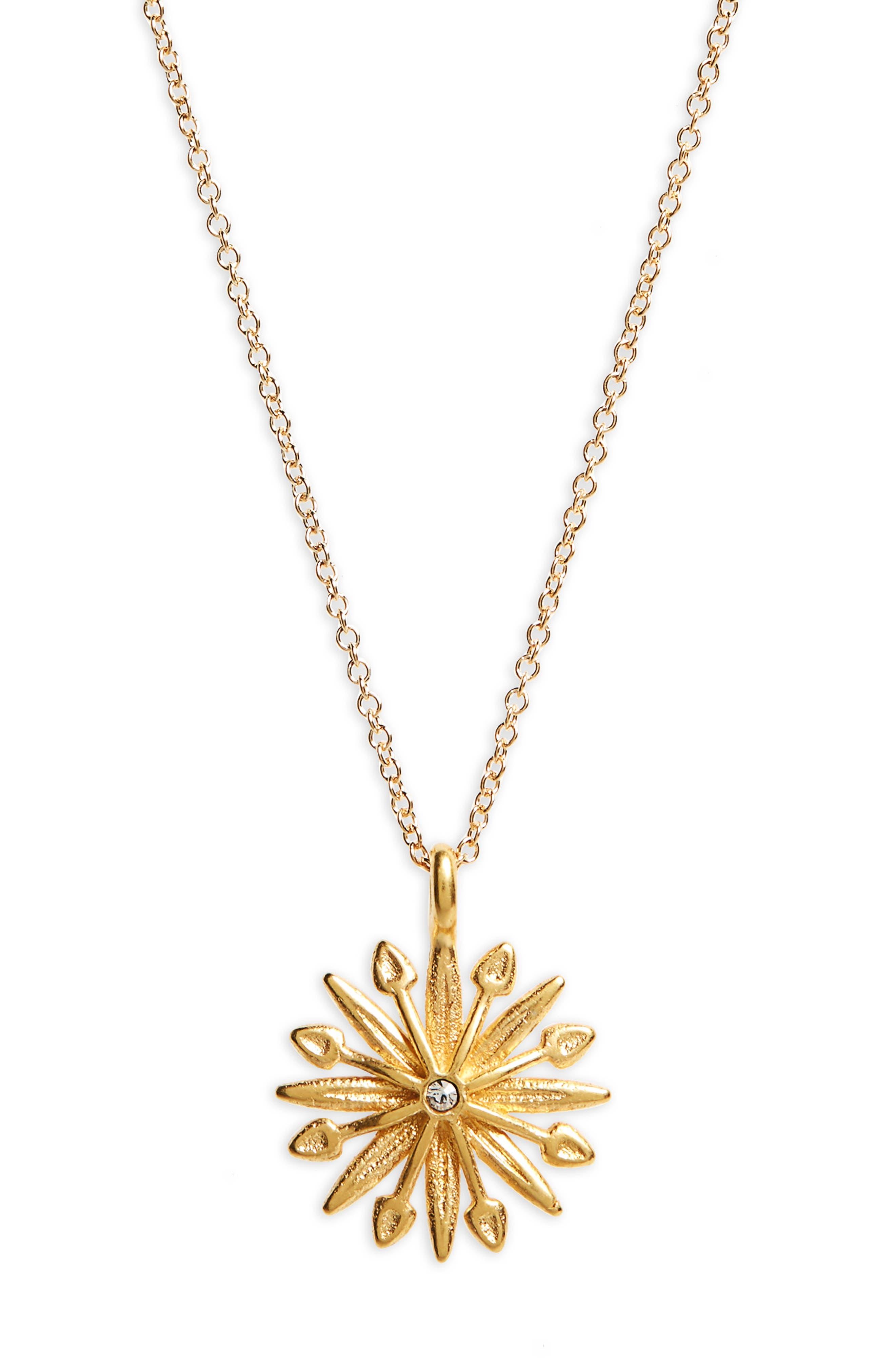 Alternate Image 3  - Dogeared Starburst Charm Pendant Necklace