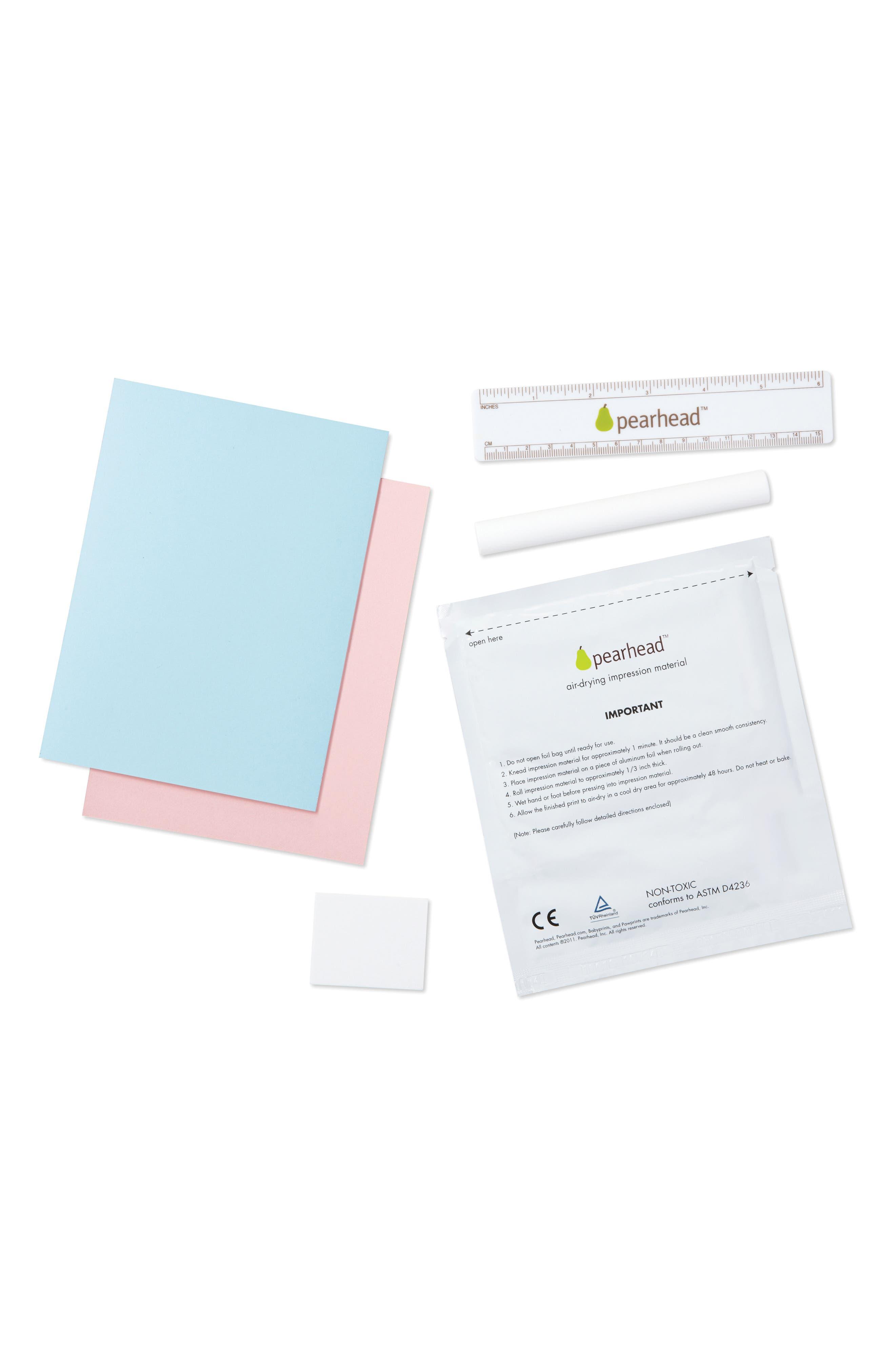 Babyprints Deluxe Wall Frame Kit,                             Alternate thumbnail 5, color,                             White