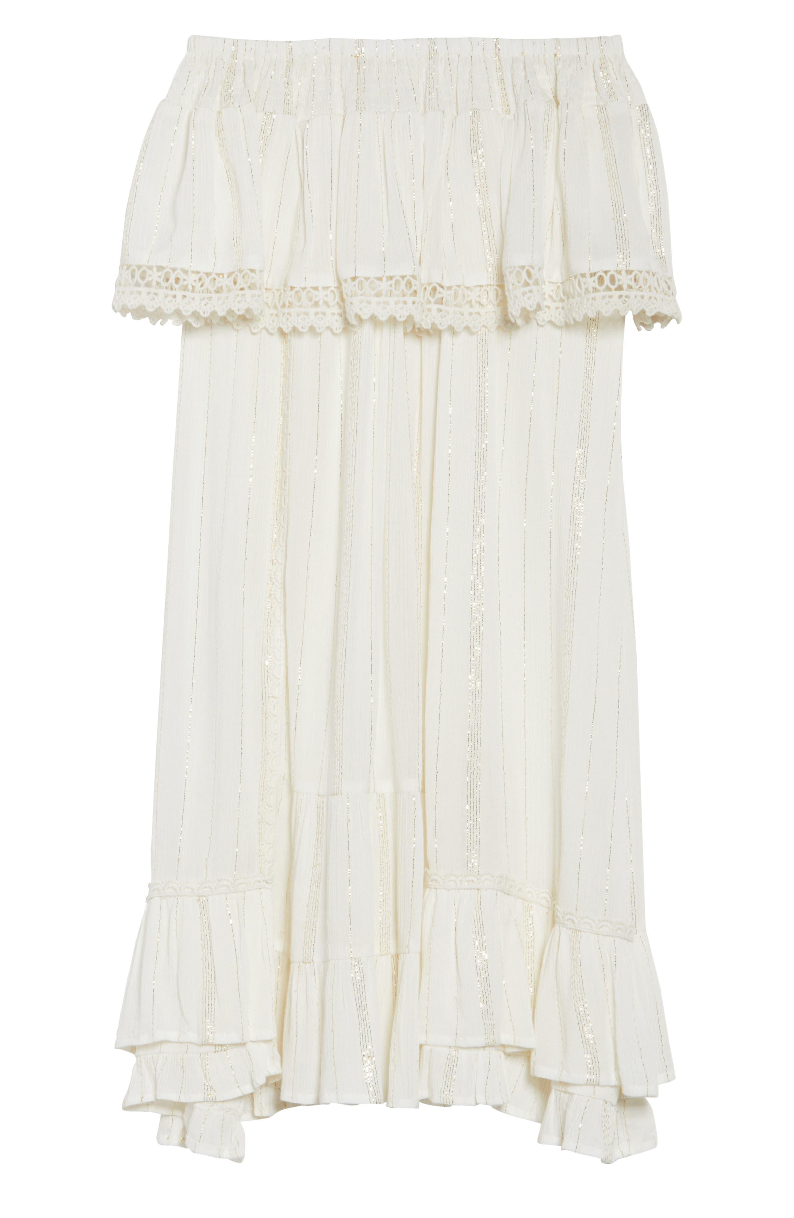 Alternate Image 6  - Muche et Muchette Iris Ruffle Cover-Up Dress