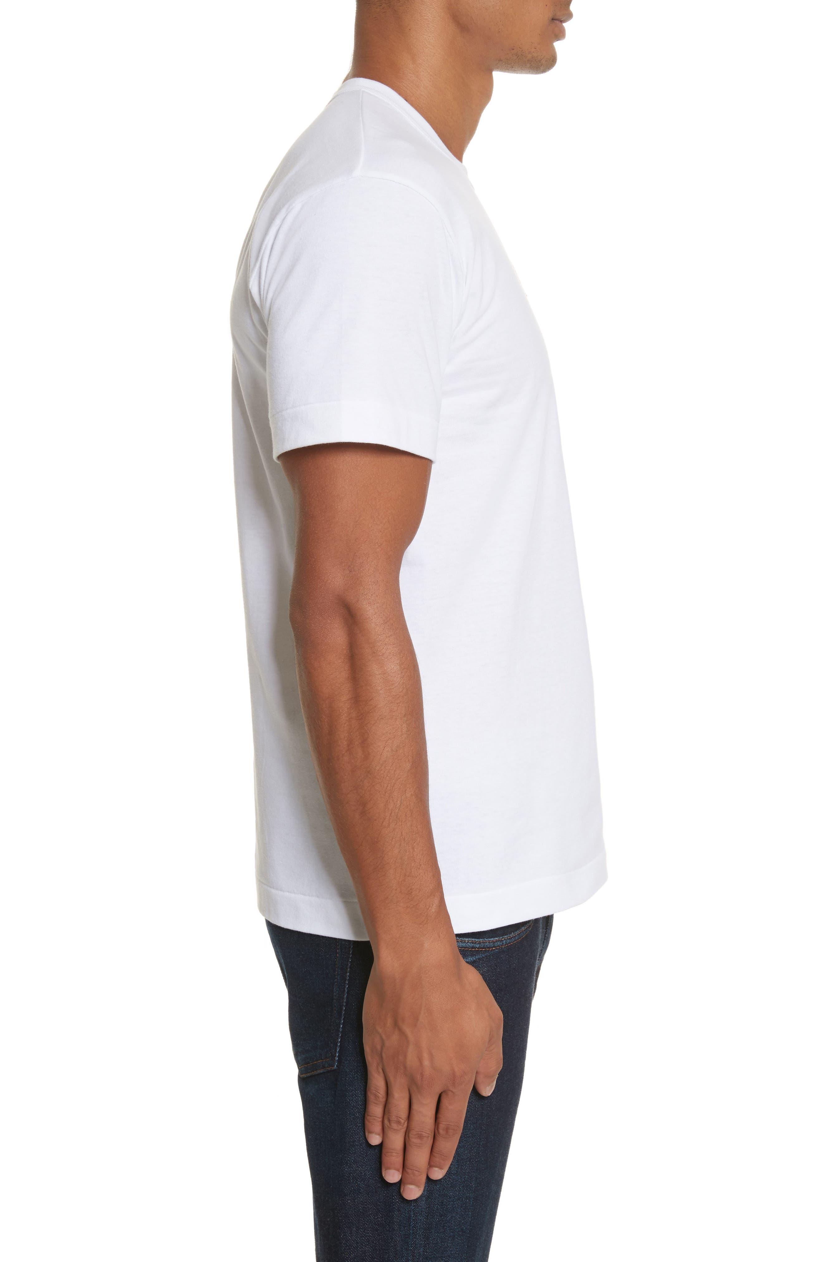 Alternate Image 3  - Comme des Garçons PLAY Cotton Jersey Crewneck T-Shirt