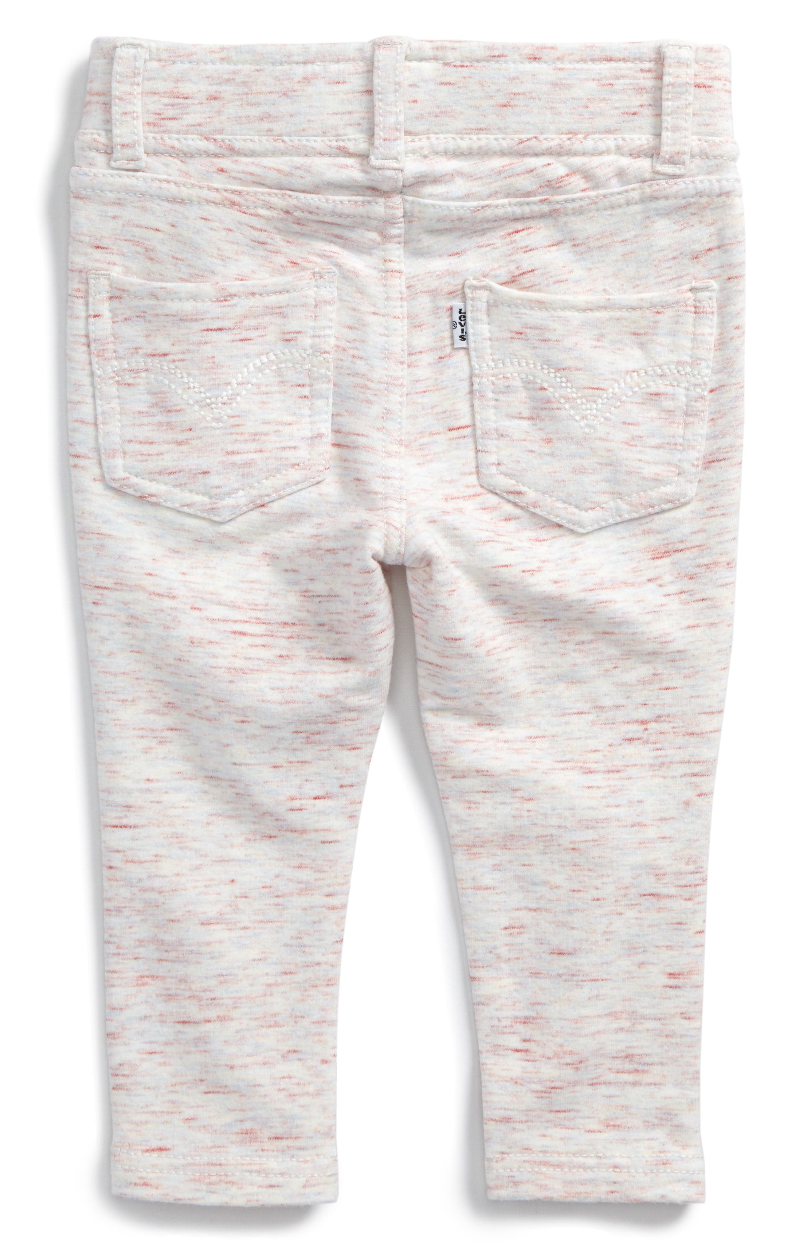 Alternate Image 2  - Levi's® Haley May Leggings (Baby Girls)