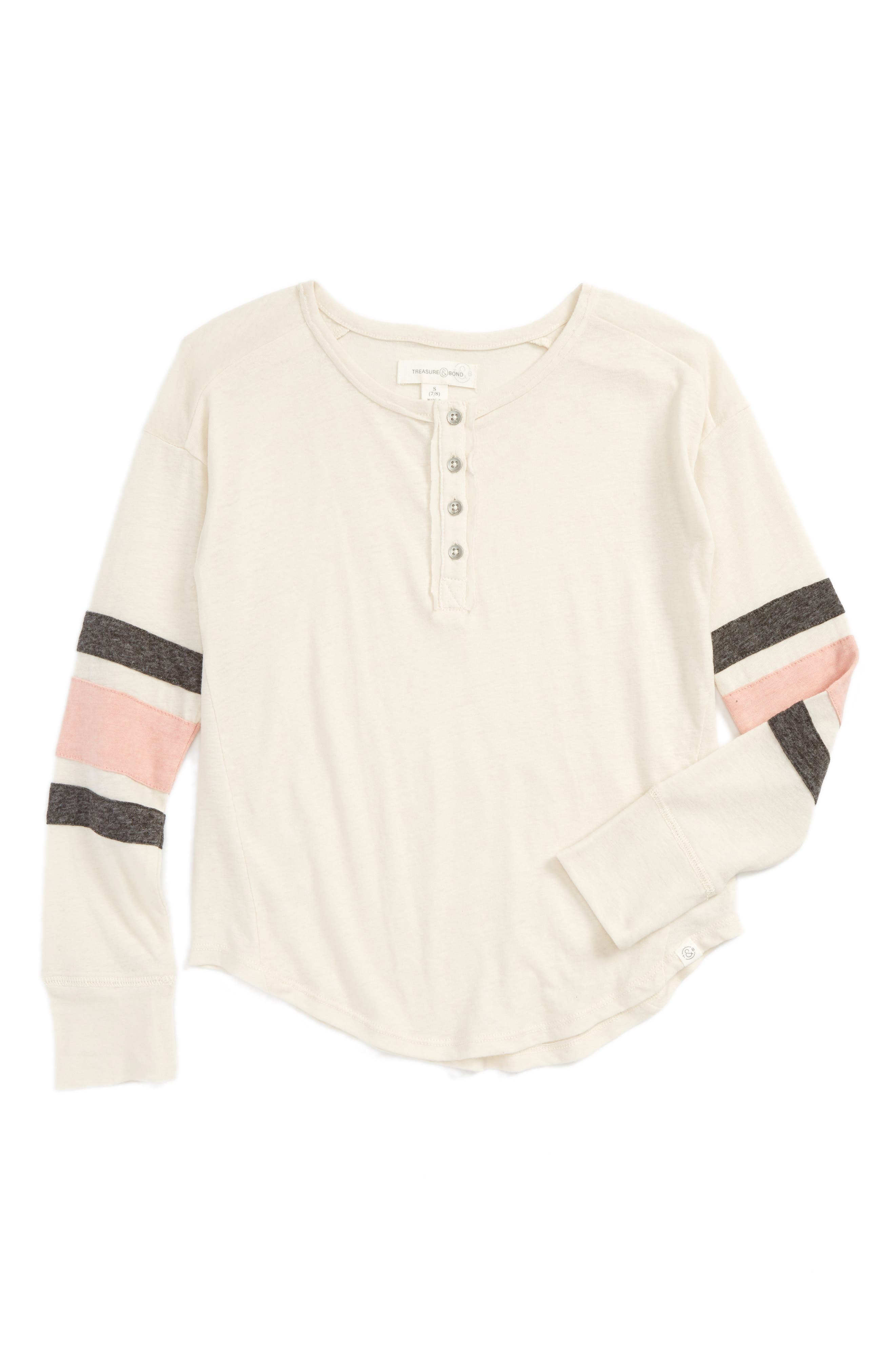 Treasure & Bond Varsity Henley (Big Girls)