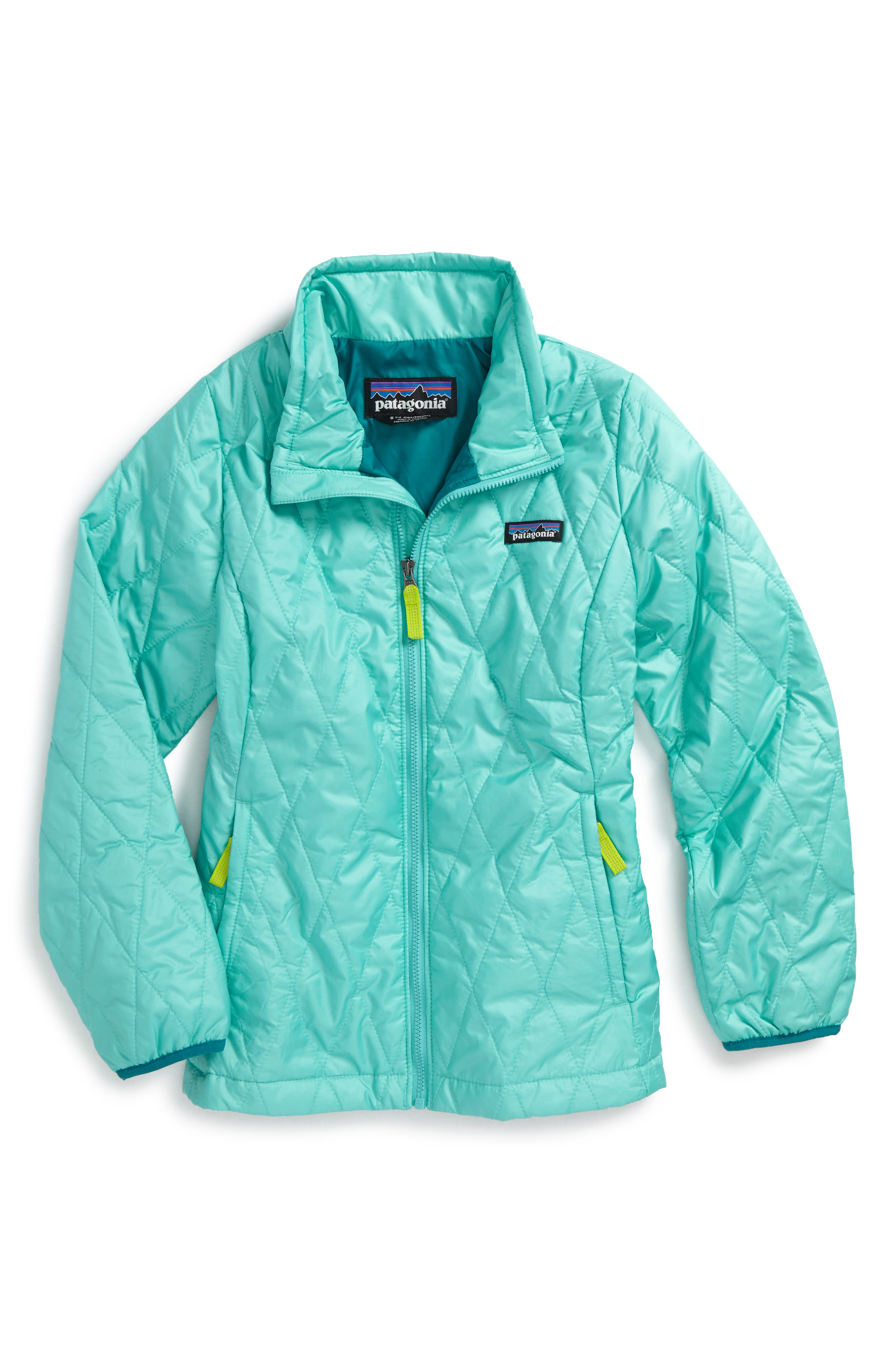 Patagonia Nano Puff® Quilted Water Resistant Jacket (Little Girls & Big Girls)