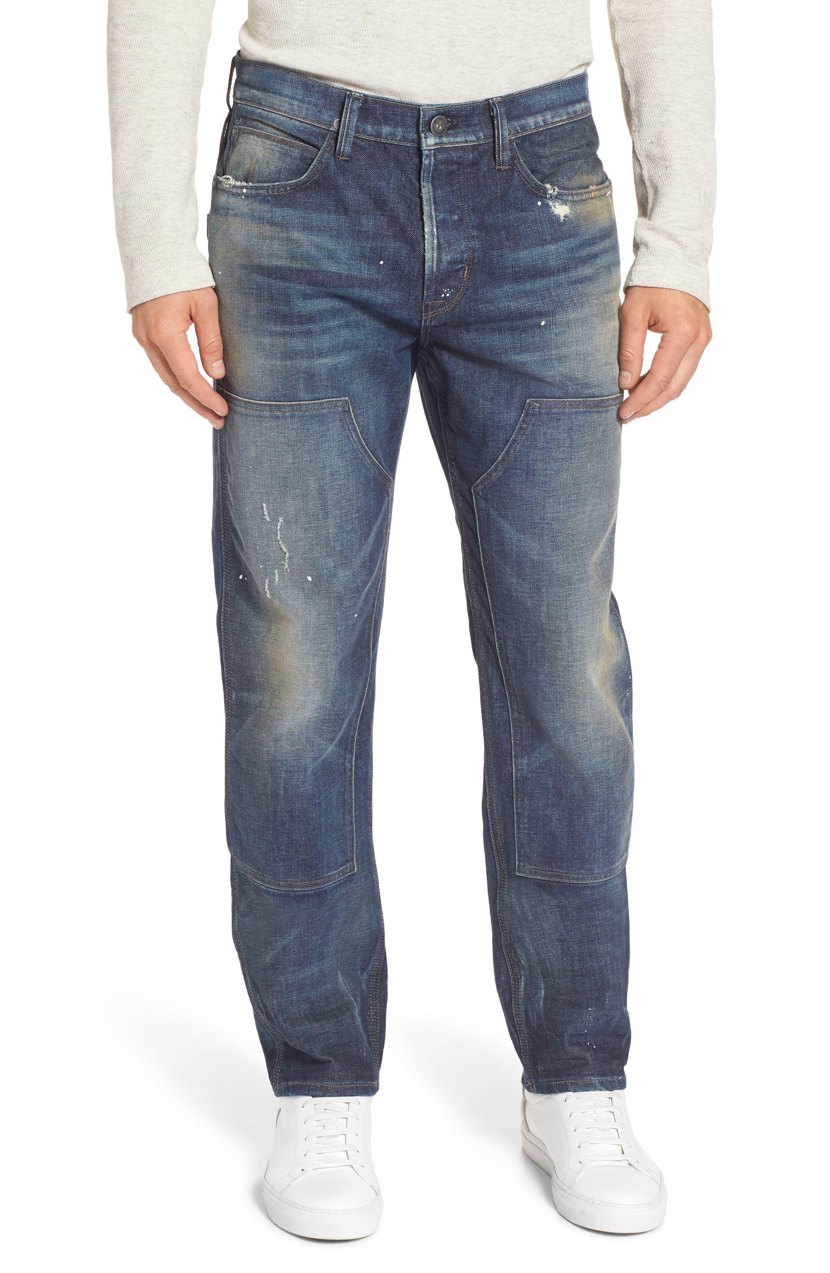 Alternate Image 1 Selected - Hudson Jeans Hunter Straight Fit Jeans (Virus)