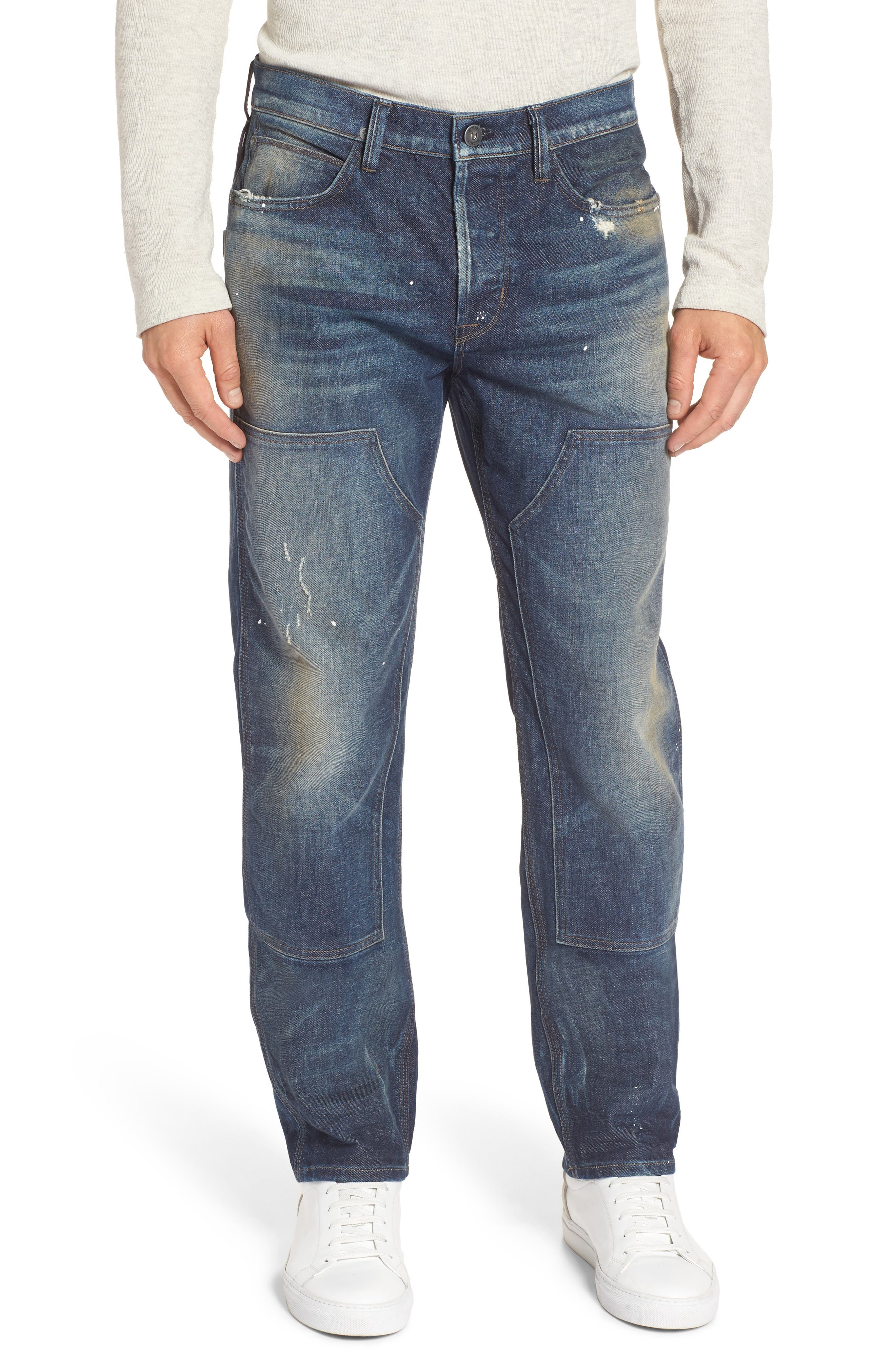 Main Image - Hudson Jeans Hunter Straight Fit Jeans (Virus)