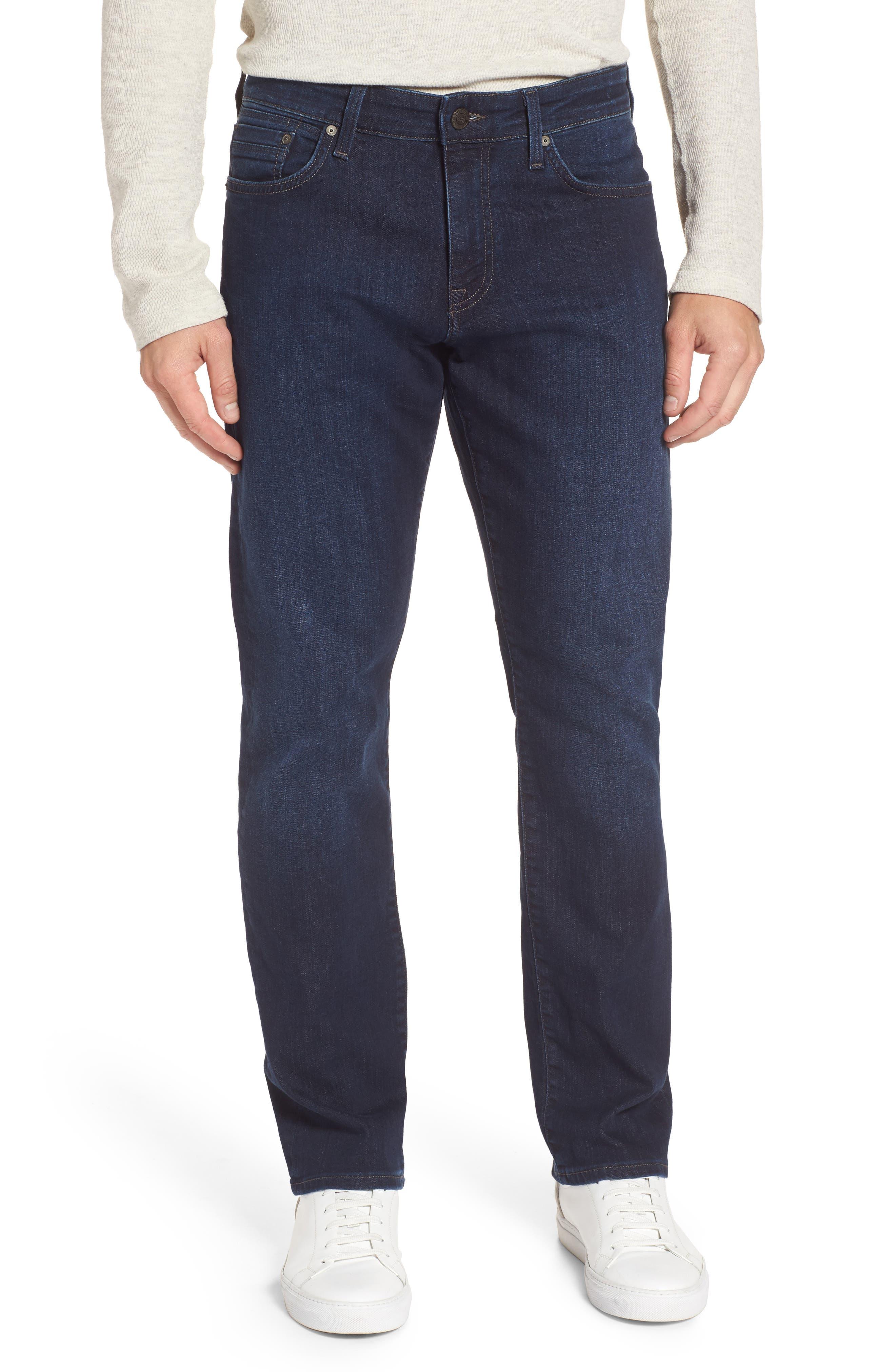 Main Image - Mavi Jeans Myles Straight Fit Jeans (Deep Clean Comfort)