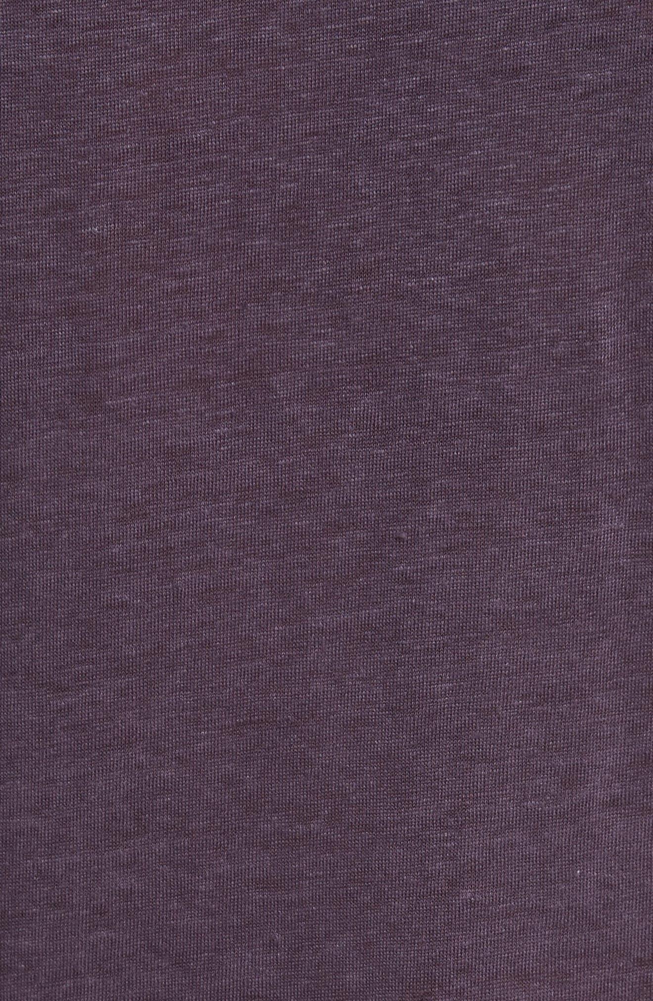 Alternate Image 5  - John Varvatos Collection Linen Henley T-Shirt