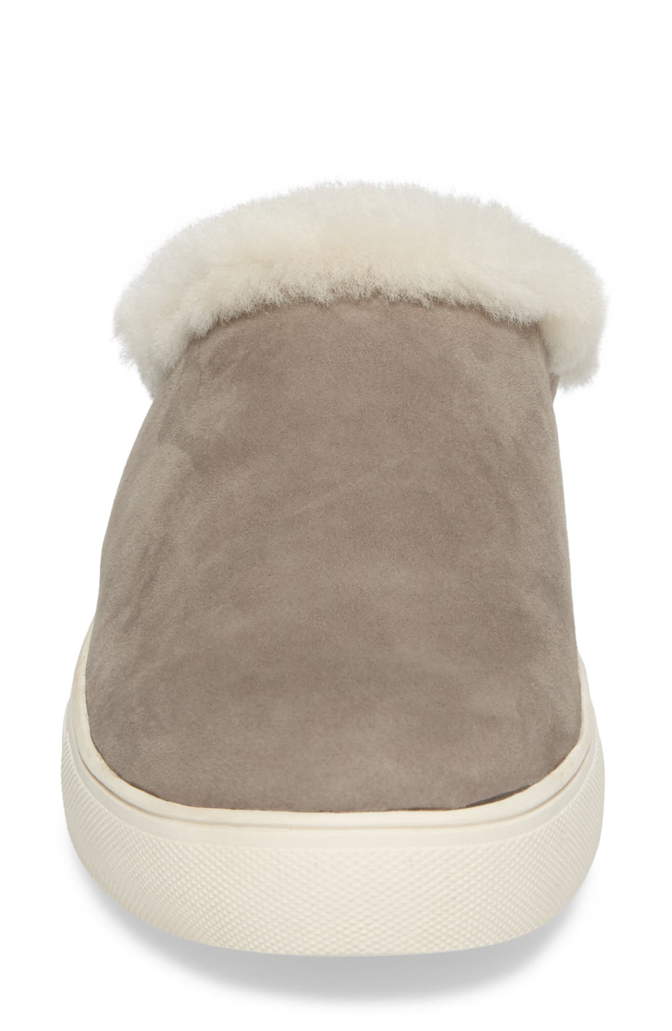 Alternate Image 4  - Sudini Leia Genuine Shearling Lined Slip-On (Women)