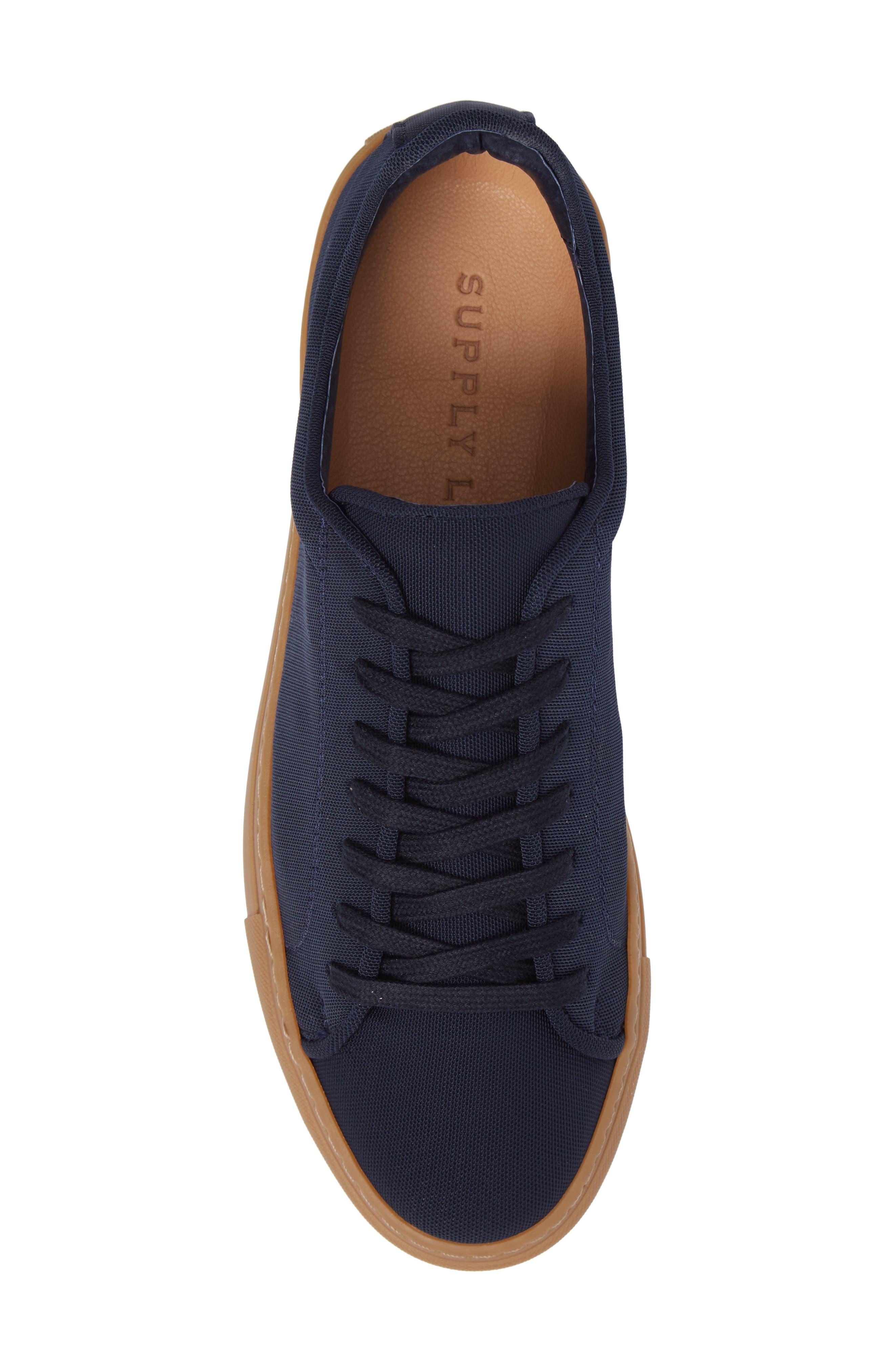 Dylan Sneaker,                             Alternate thumbnail 5, color,                             Navy