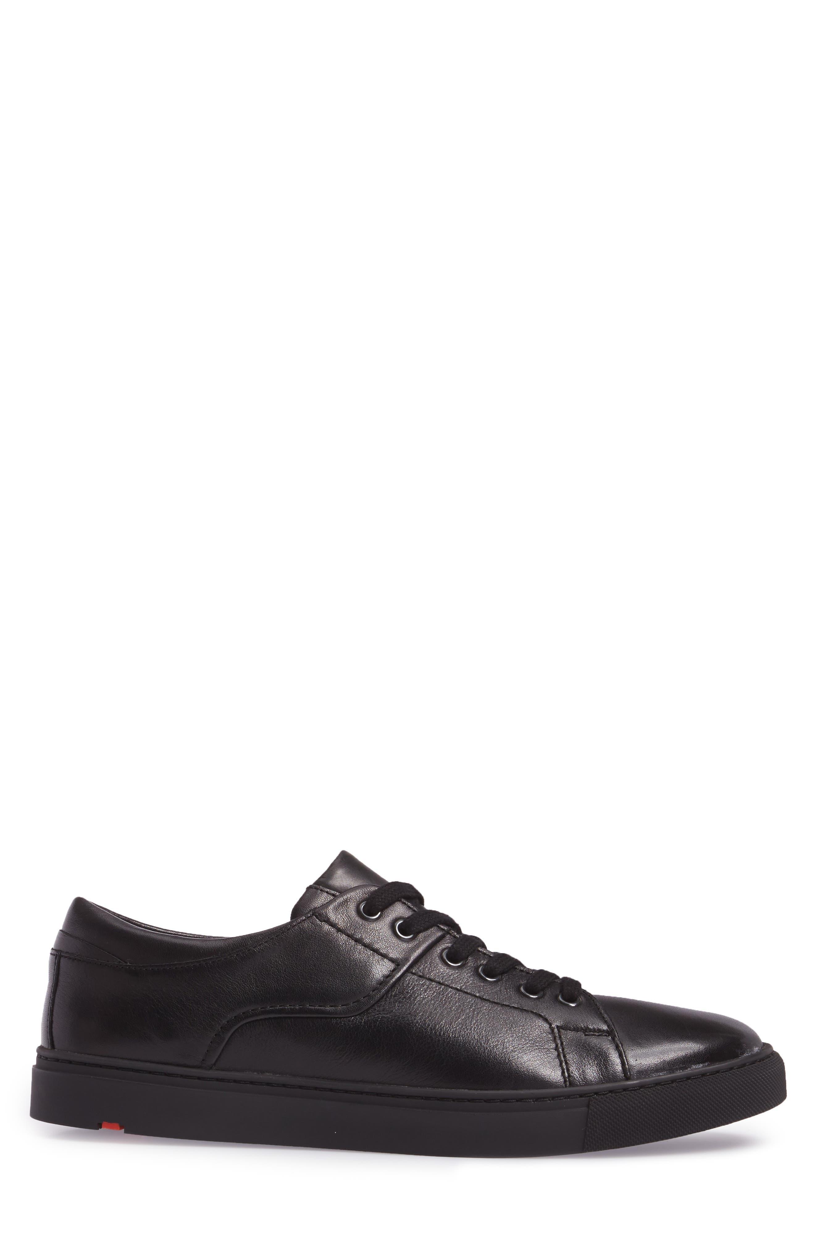 Adamson Sneaker,                             Alternate thumbnail 3, color,                             Black