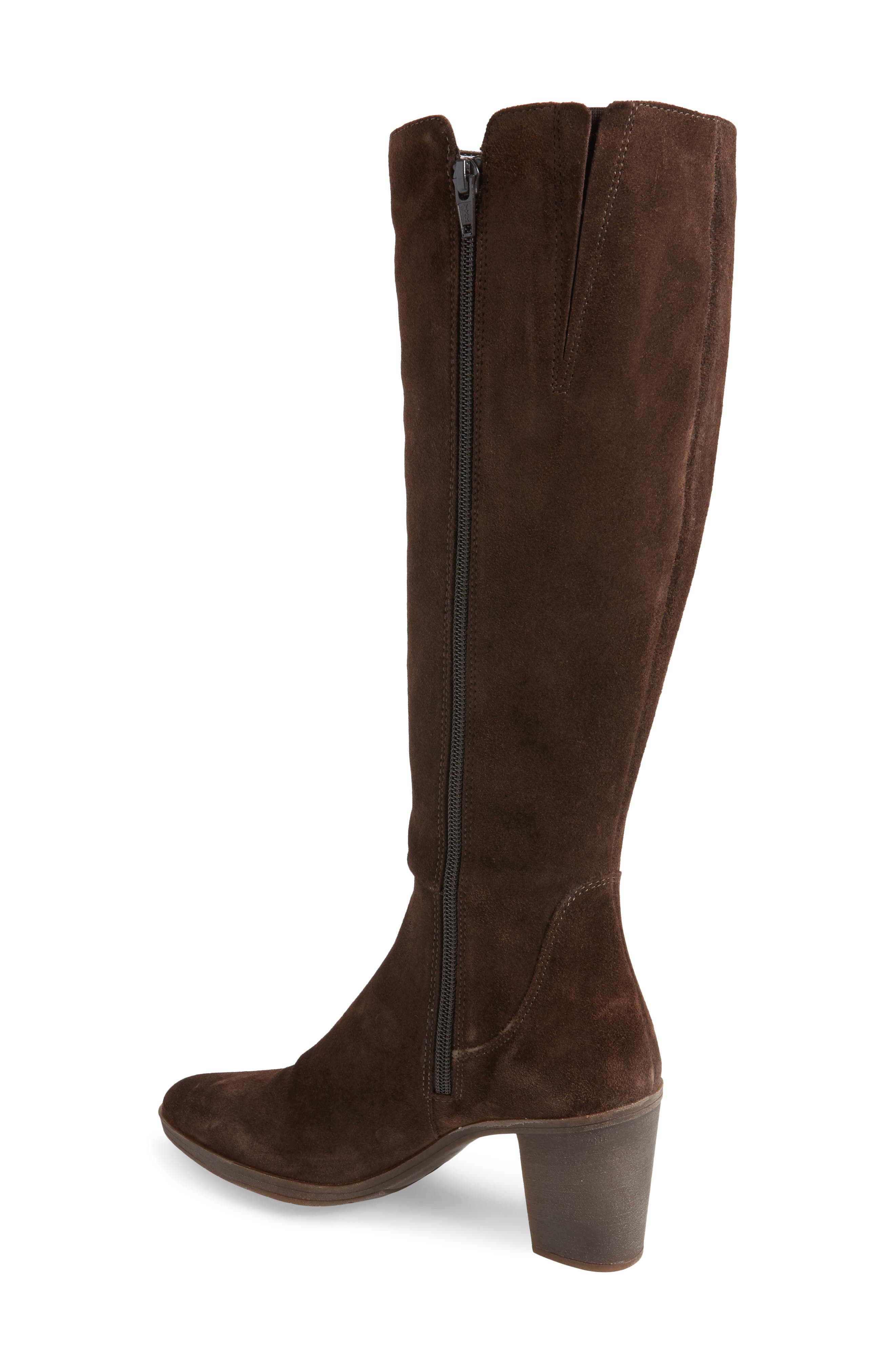 Pony Up Boot,                             Alternate thumbnail 2, color,                             Ebony Suede