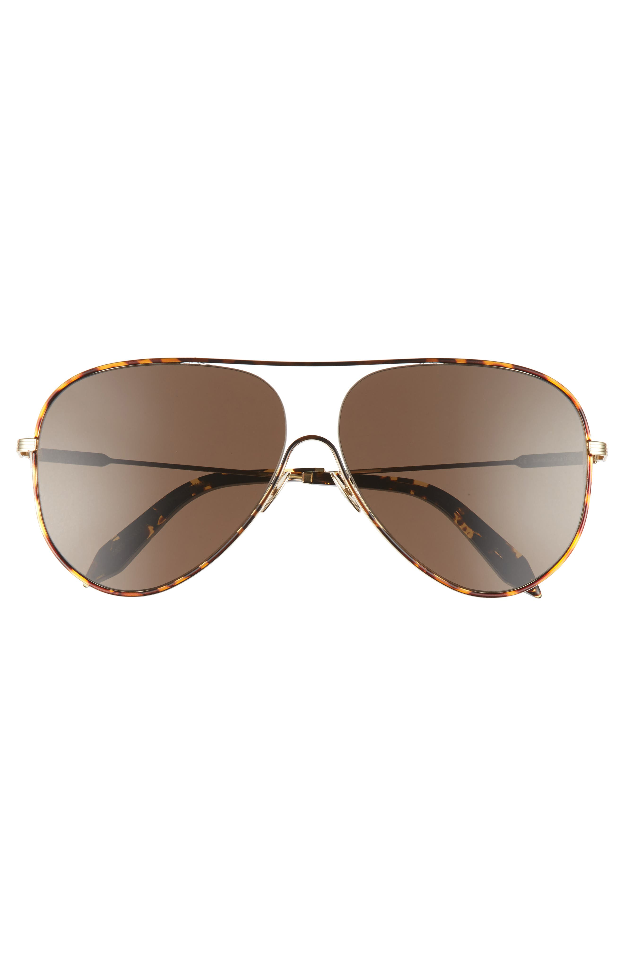 Alternate Image 3  - Victoria Beckham Loop 62mm Oversize Aviator Sunglasses