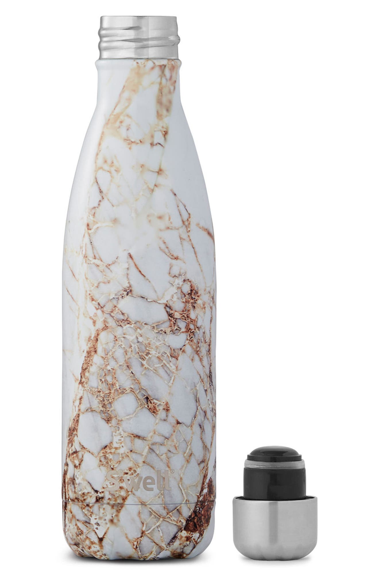 Alternate Image 2  - S'well Elements Collection - Calacatta Gold Insulated Stainless Steel Water Bottle