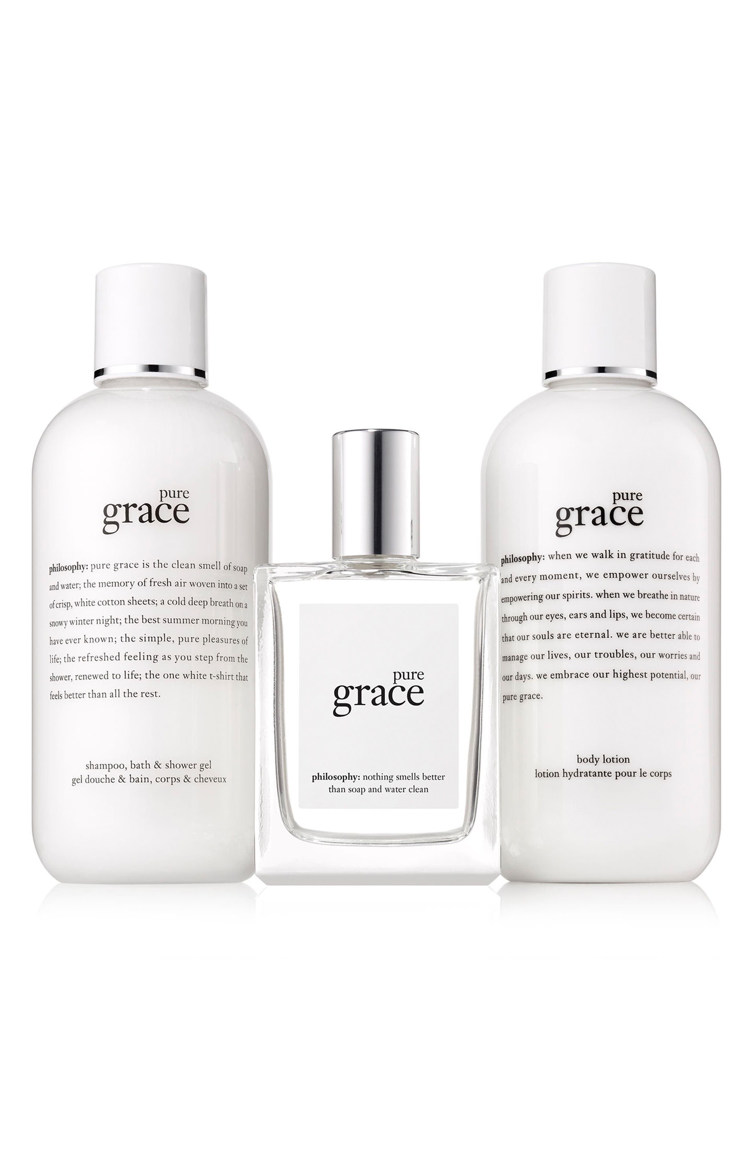 Alternate Image 2  - philosophy pure grace set (Limited Edition) ($88 Value)