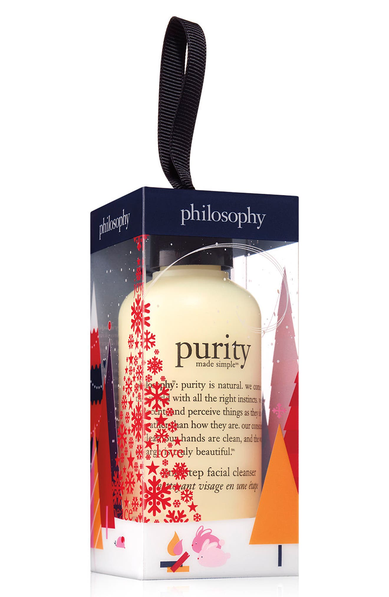 philosophy purity made simple one-step facial cleanser ornament (Limited Edition)