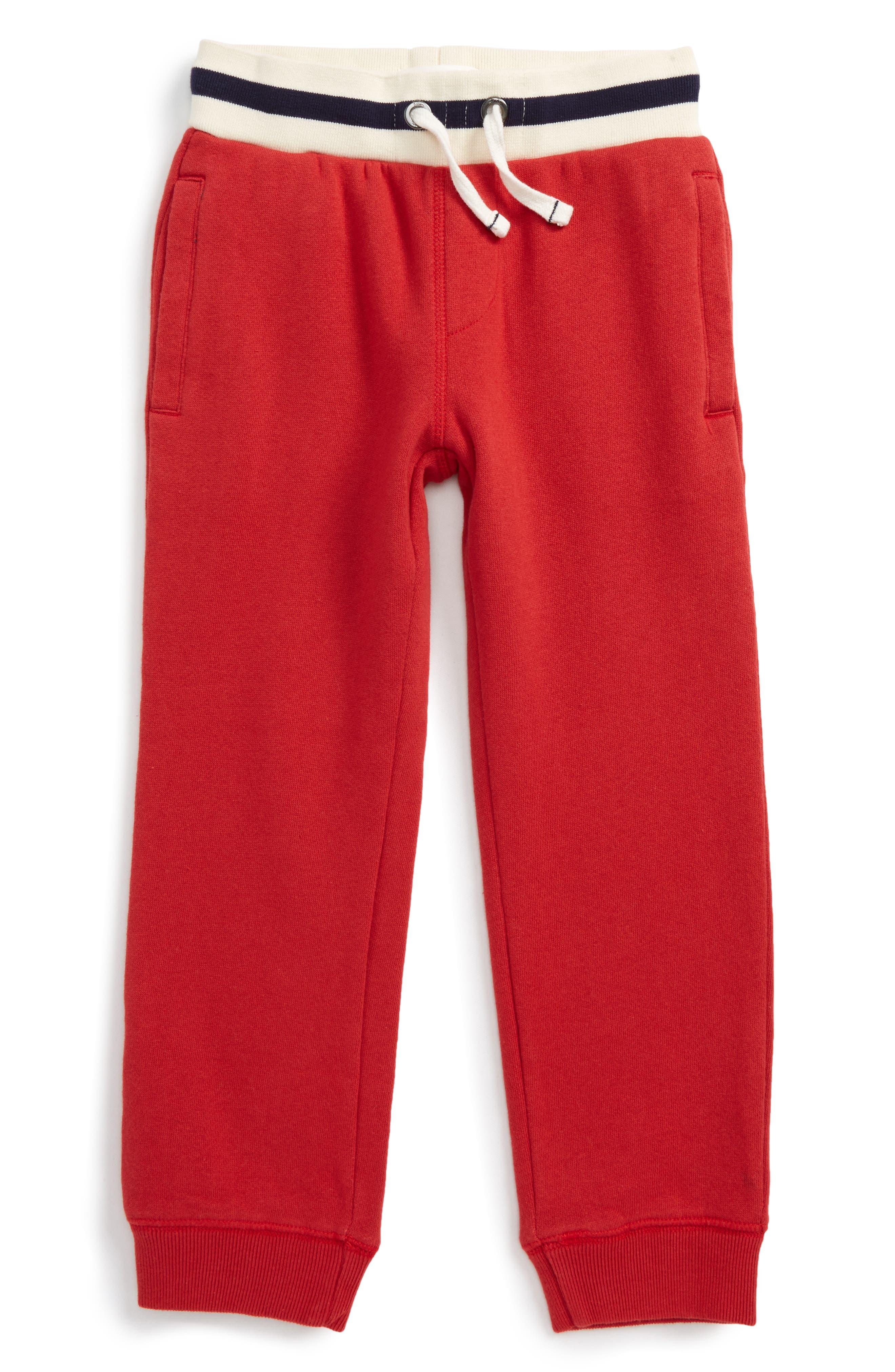 Alternate Image 1 Selected - Mini Boden Everyday Jogger Pants (Toddler Boys, Little Boys & Big Boys)