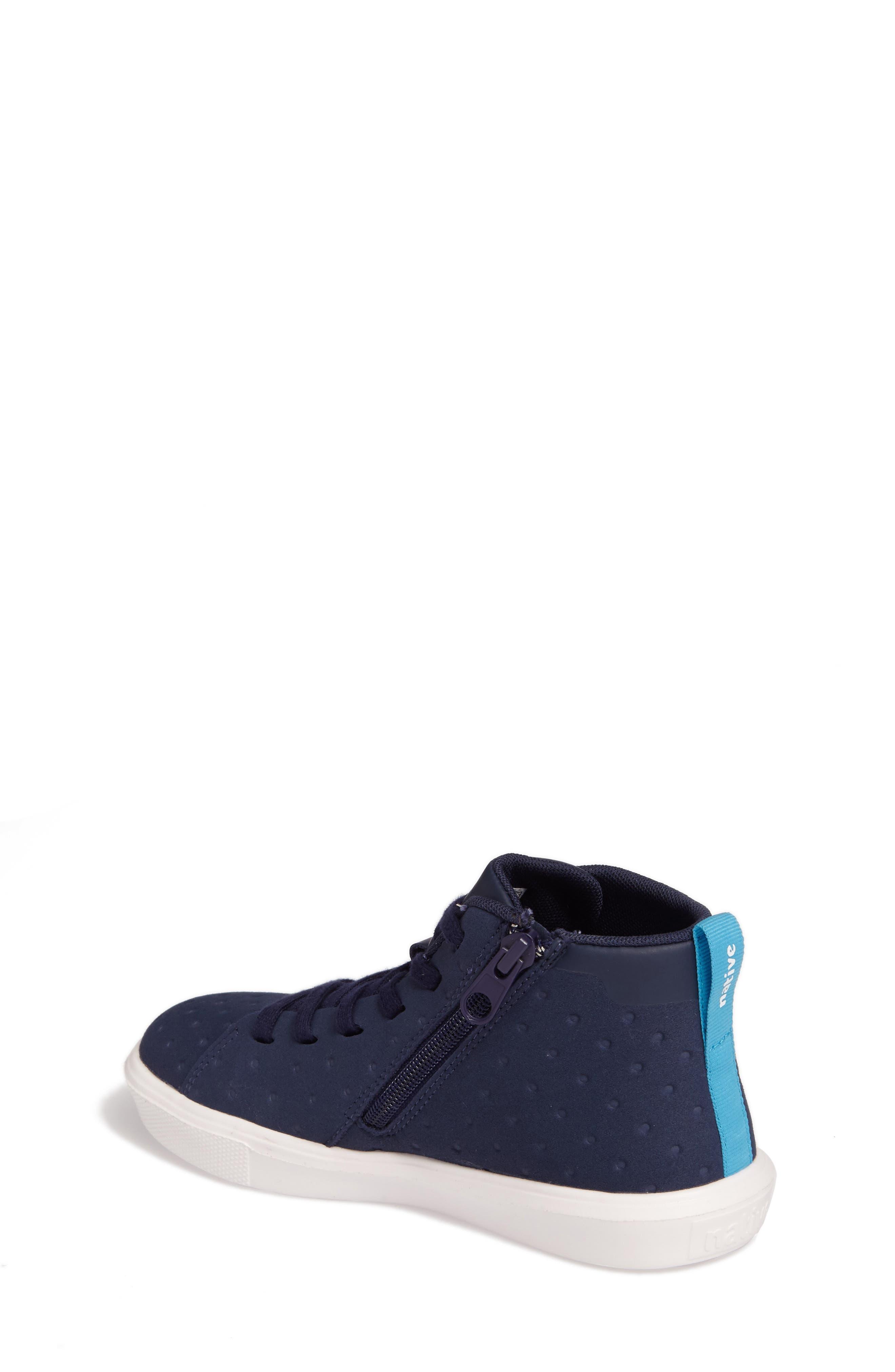 Native Monaco Sneaker,                             Alternate thumbnail 2, color,                             Regatta Blue/ Shell White