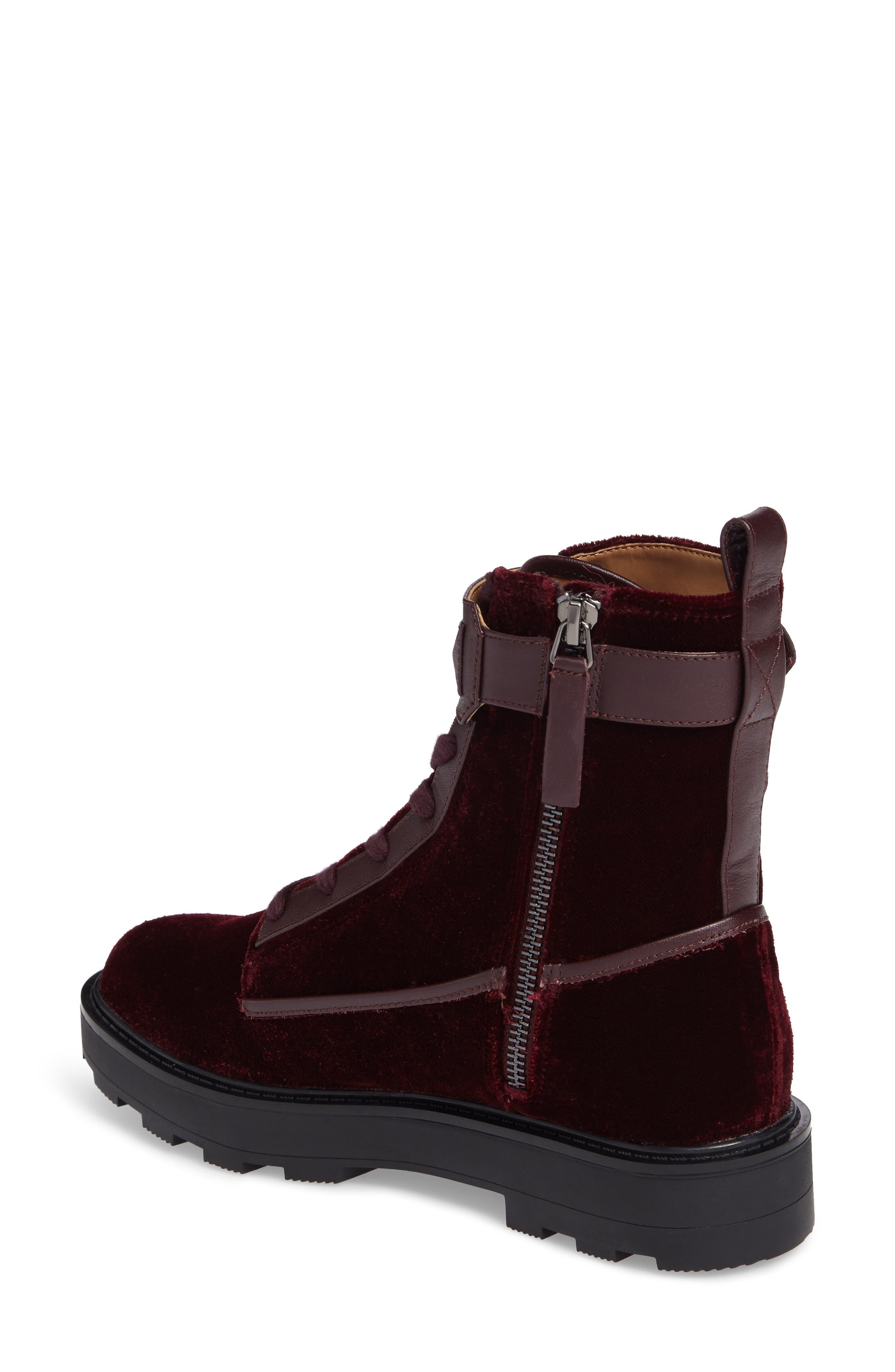 Vanora Boot,                             Alternate thumbnail 2, color,                             Burgundy Velvet