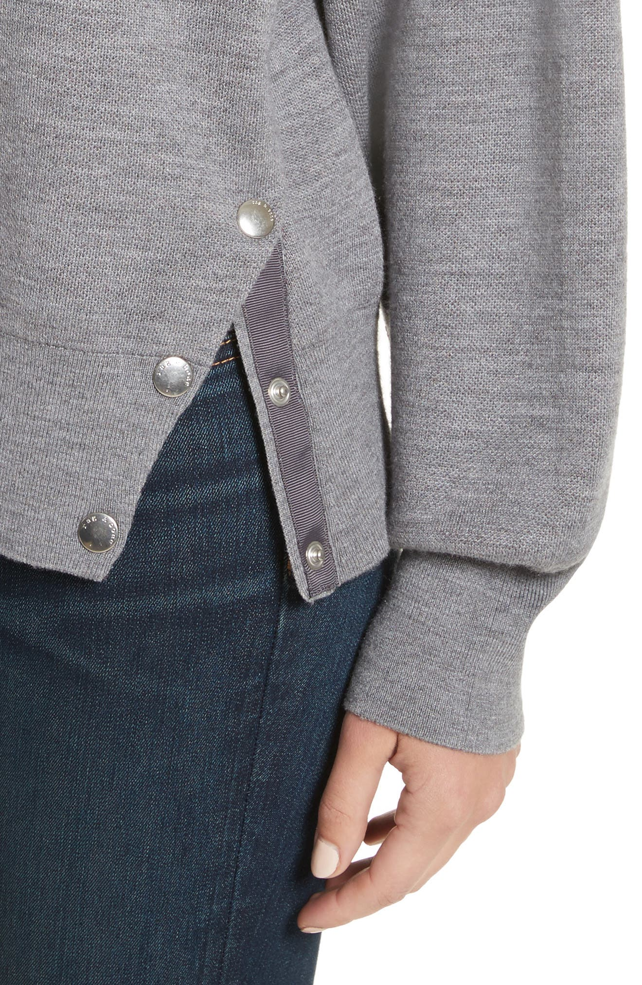 Alternate Image 5  - rag & bone Saralyn Merino Wool & Cotton Blend Crewneck Sweater