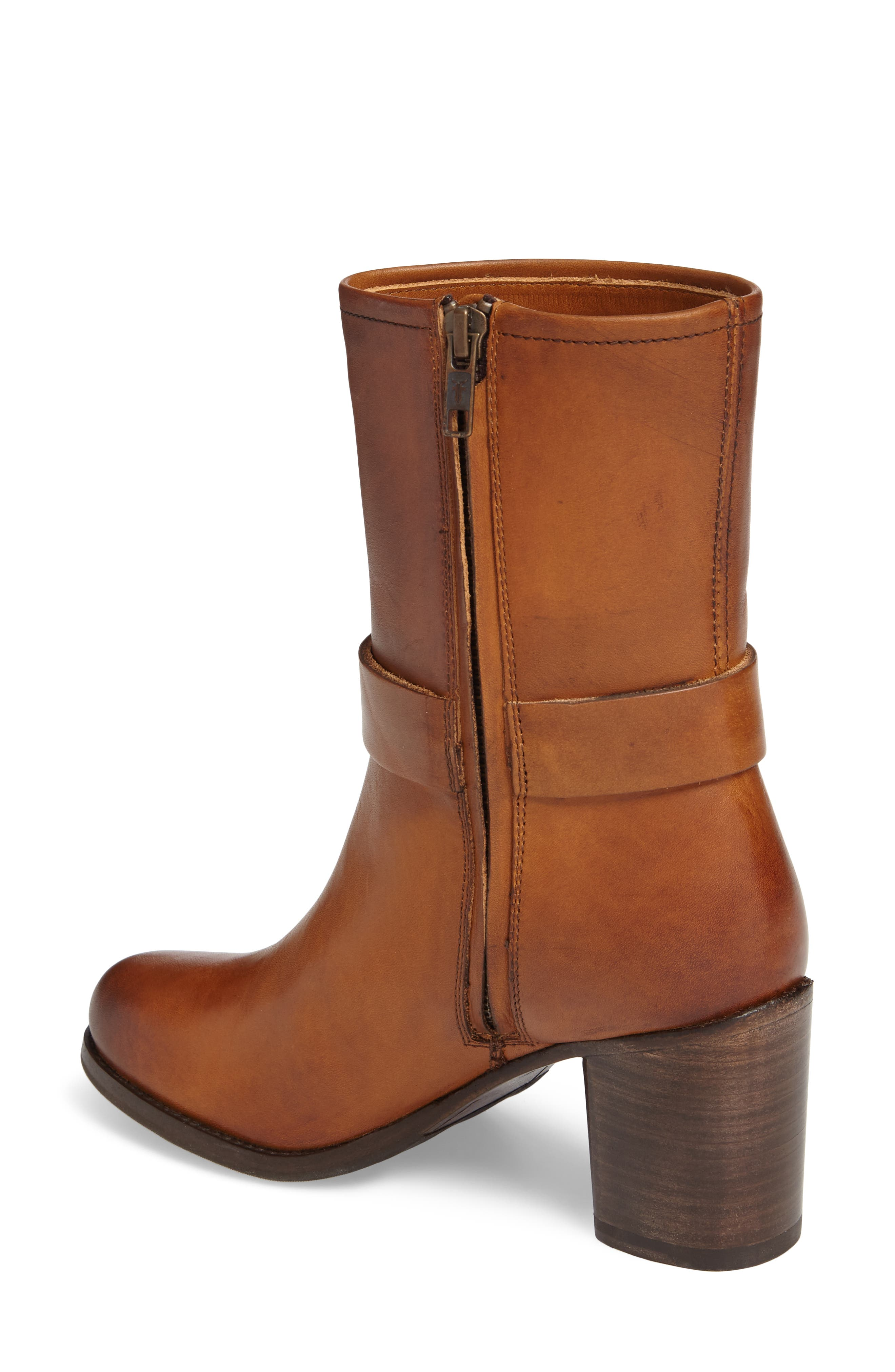 Addie Harness Boot,                             Alternate thumbnail 2, color,                             Brown