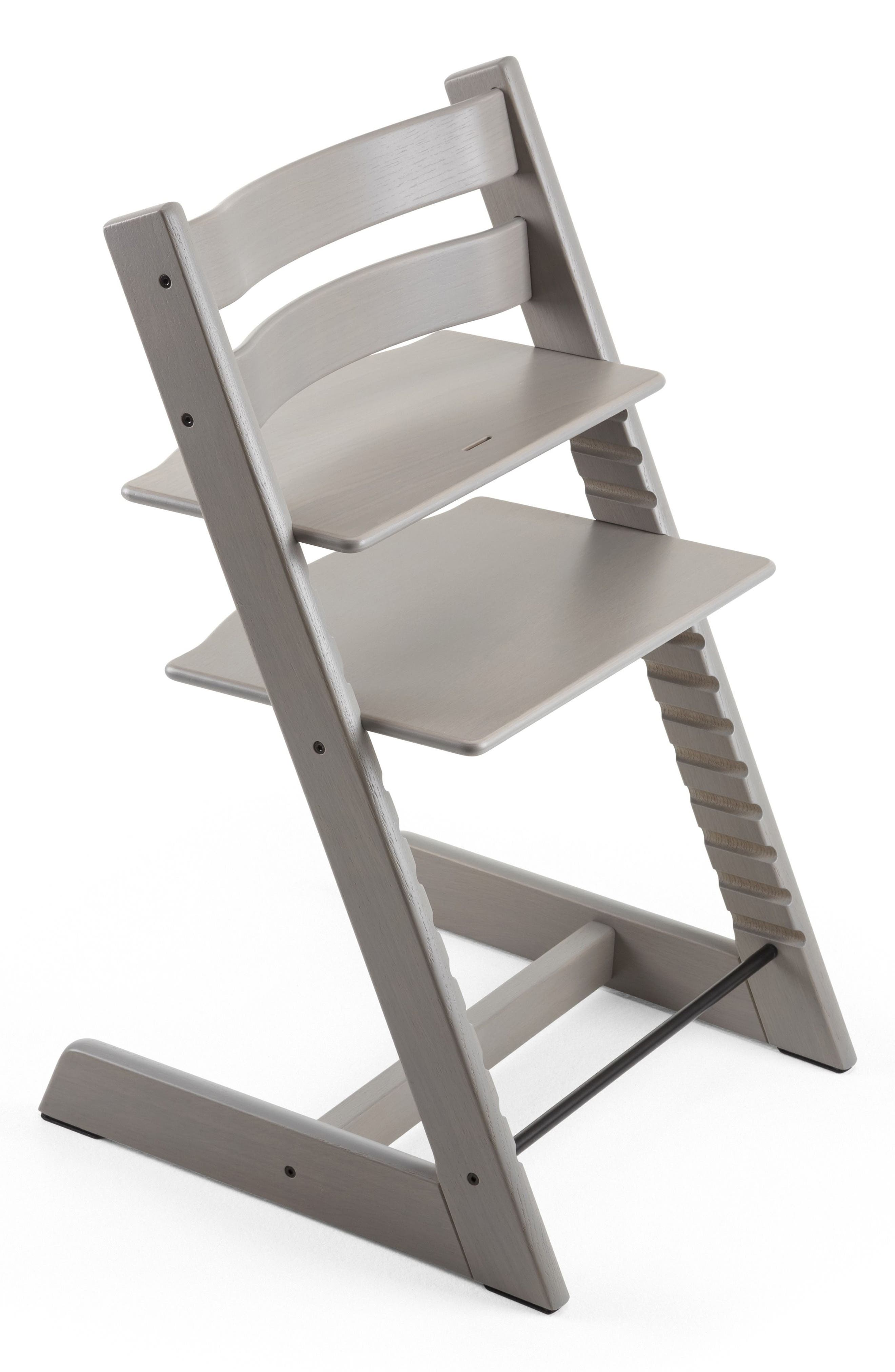 Tripp Trapp<sup>®</sup> Limited Edition Oak Chair,                         Main,                         color, Grey Wash