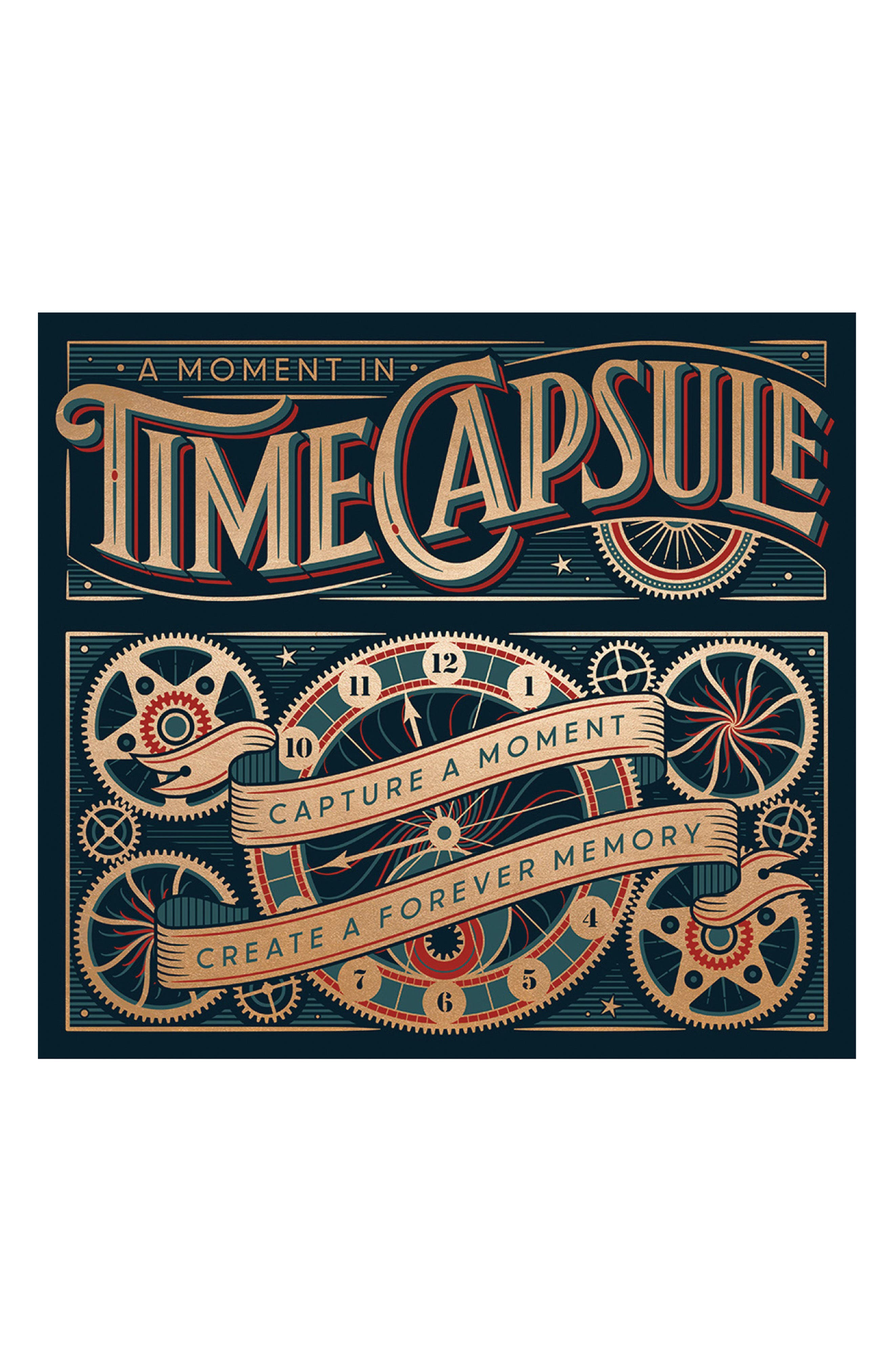 A Moment in Time Capsule Book Kit,                         Main,                         color, Black