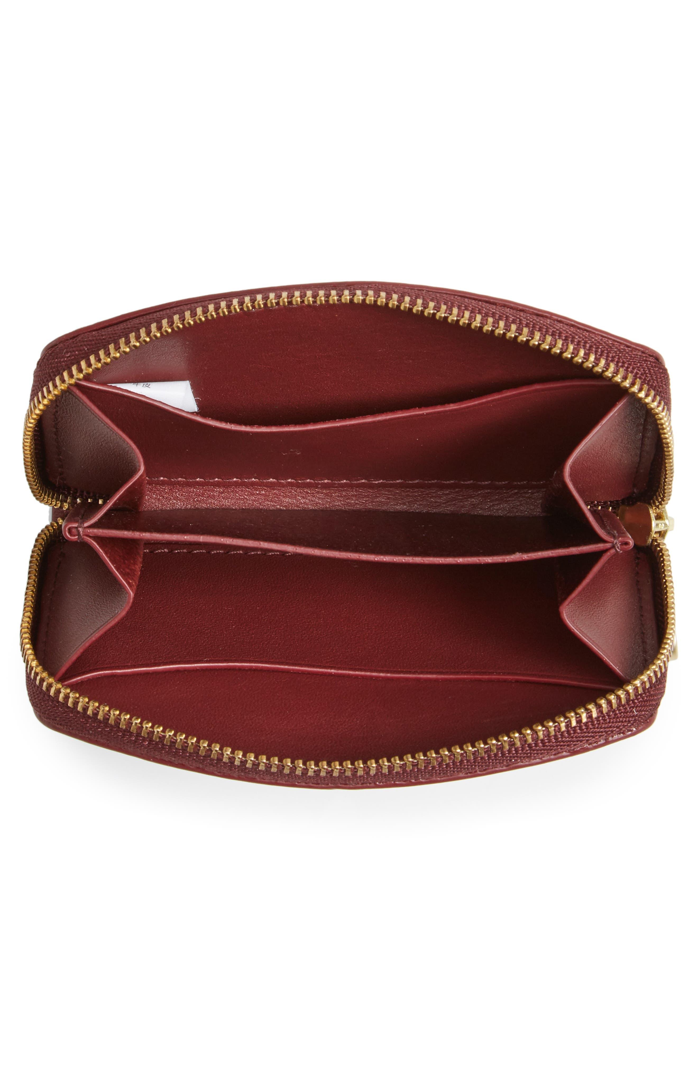 Alternate Image 3  - Skagen Zip Leather Coin Wallet