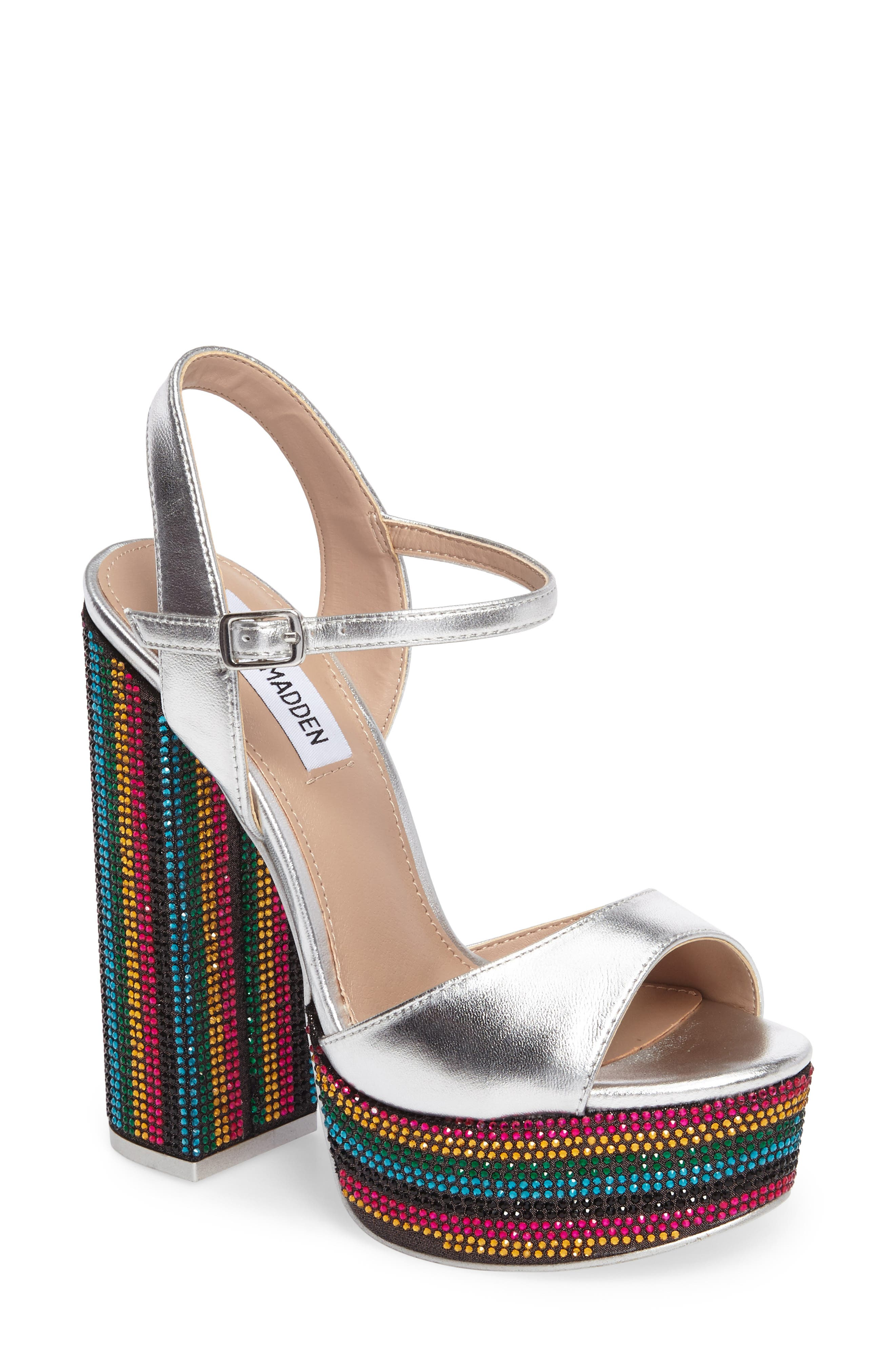 Alternate Image 1 Selected - Steve Madden Piera Sandal (Women)