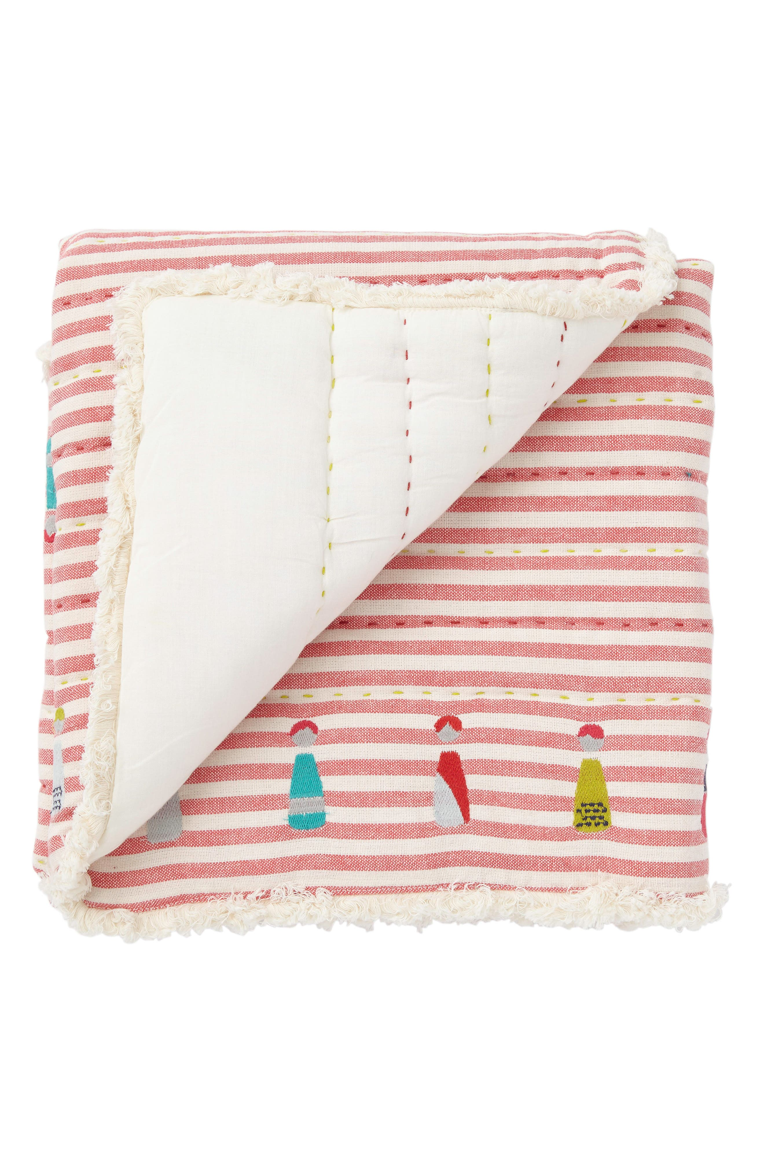 Little Peeps Play Blanket,                             Main thumbnail 1, color,                             Pink