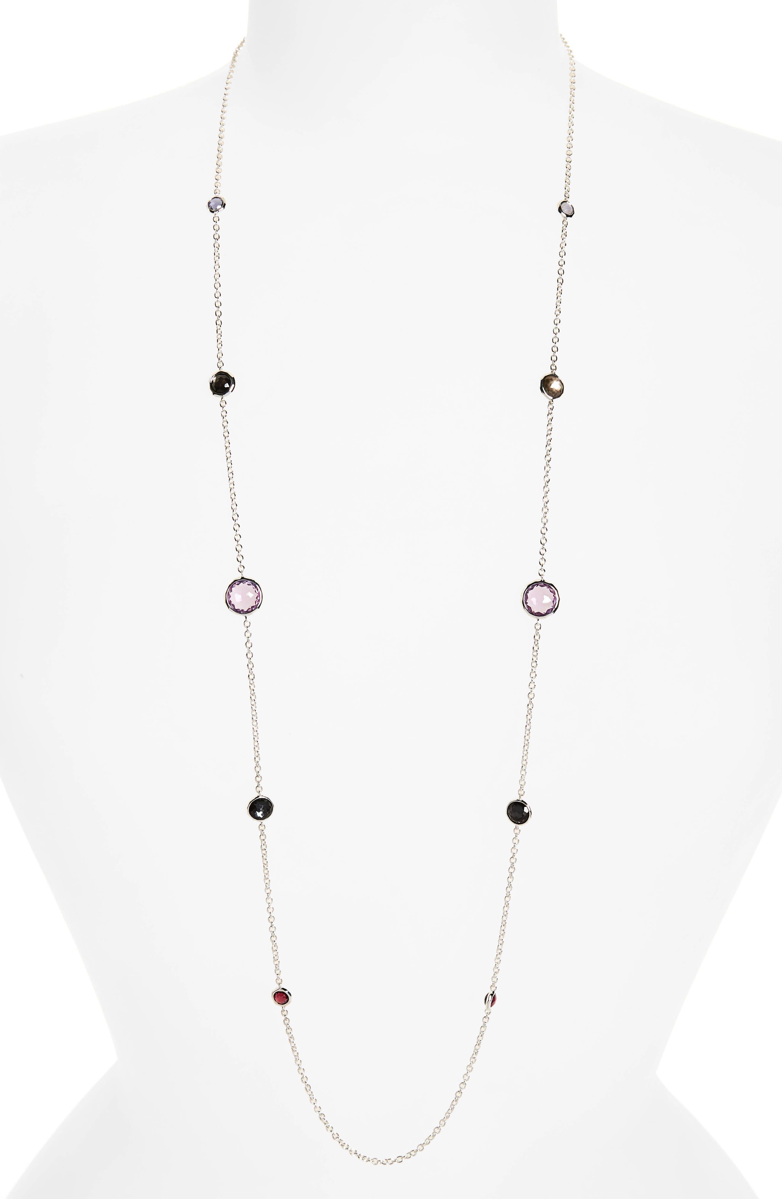 'Rock Candy - Lollipop' Long Necklace,                         Main,                         color, Red