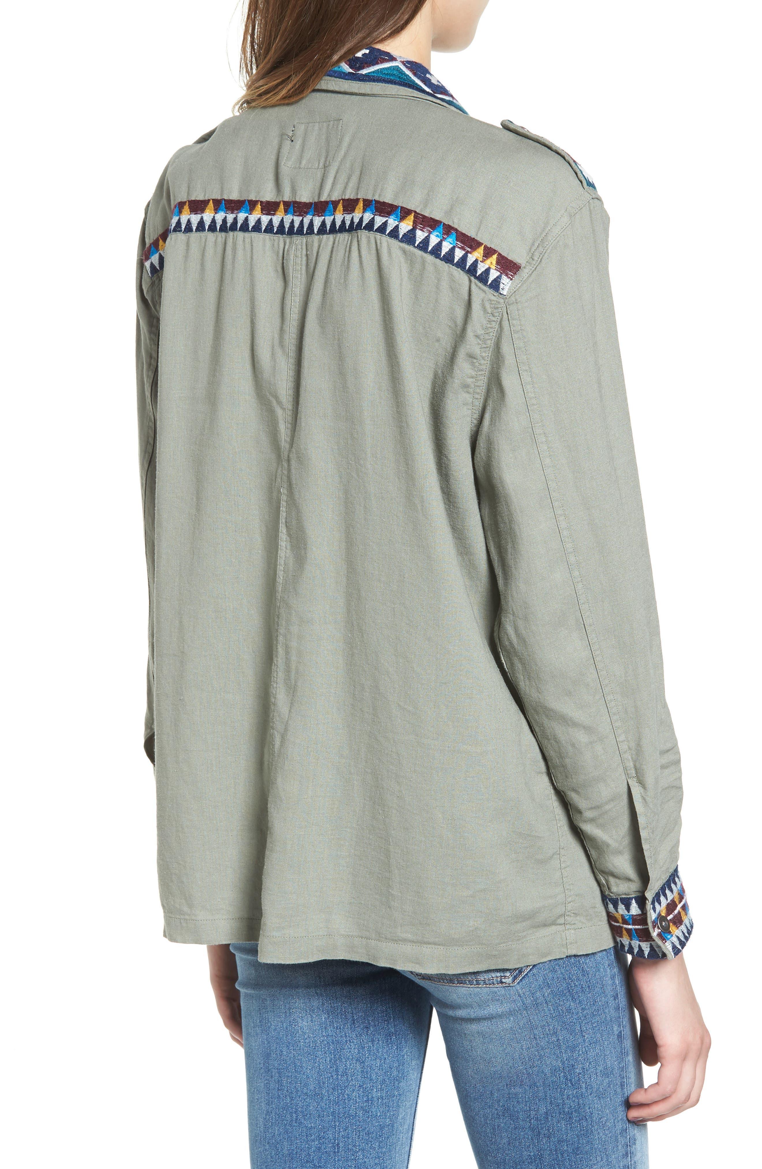 Alternate Image 2  - Rails Kona Embroidered Shirt