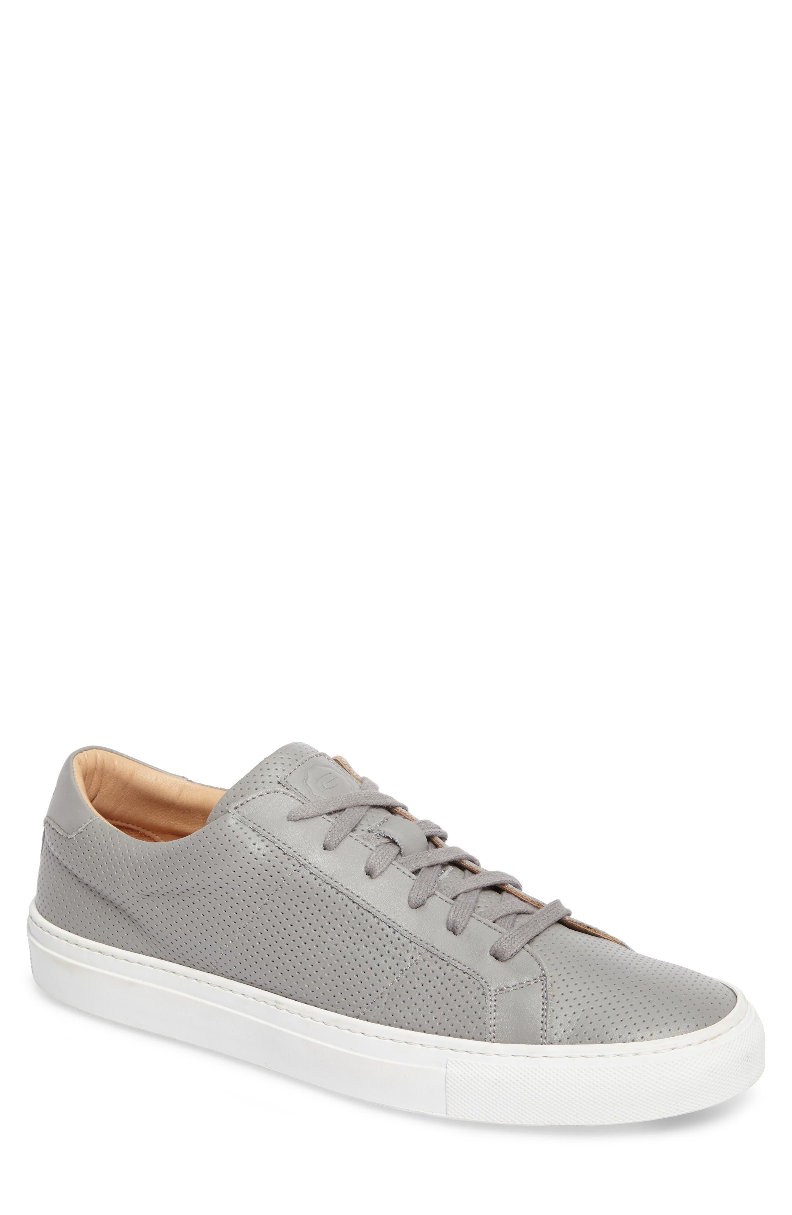 Greats Royale Perforated Low Top Sneaker (Men)