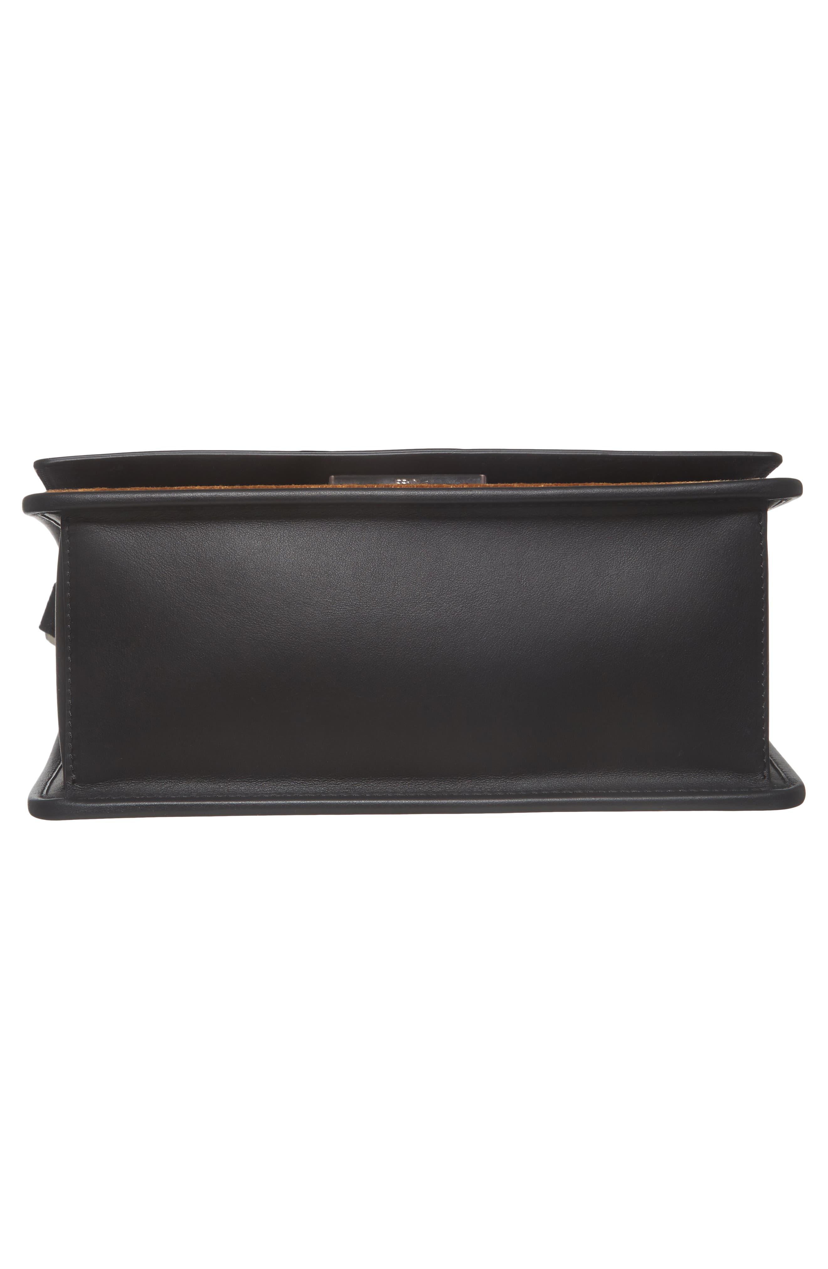 Alternate Image 6  - Fendi Kan I Logo Tappetino Leather & Velvet Shoulder Bag