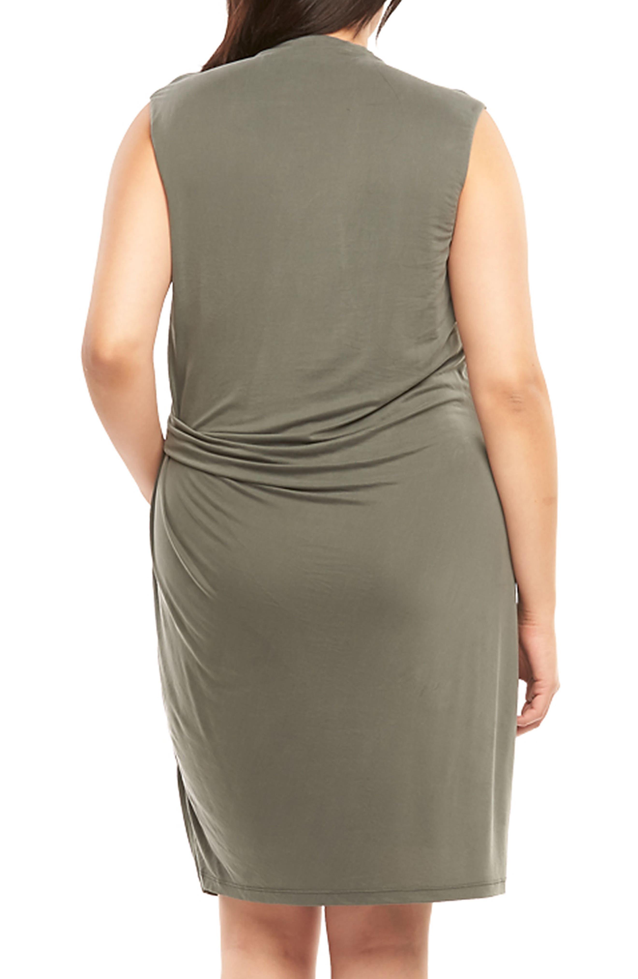 Annetta Ruched Sheath Dress,                             Alternate thumbnail 2, color,                             Urban Chic