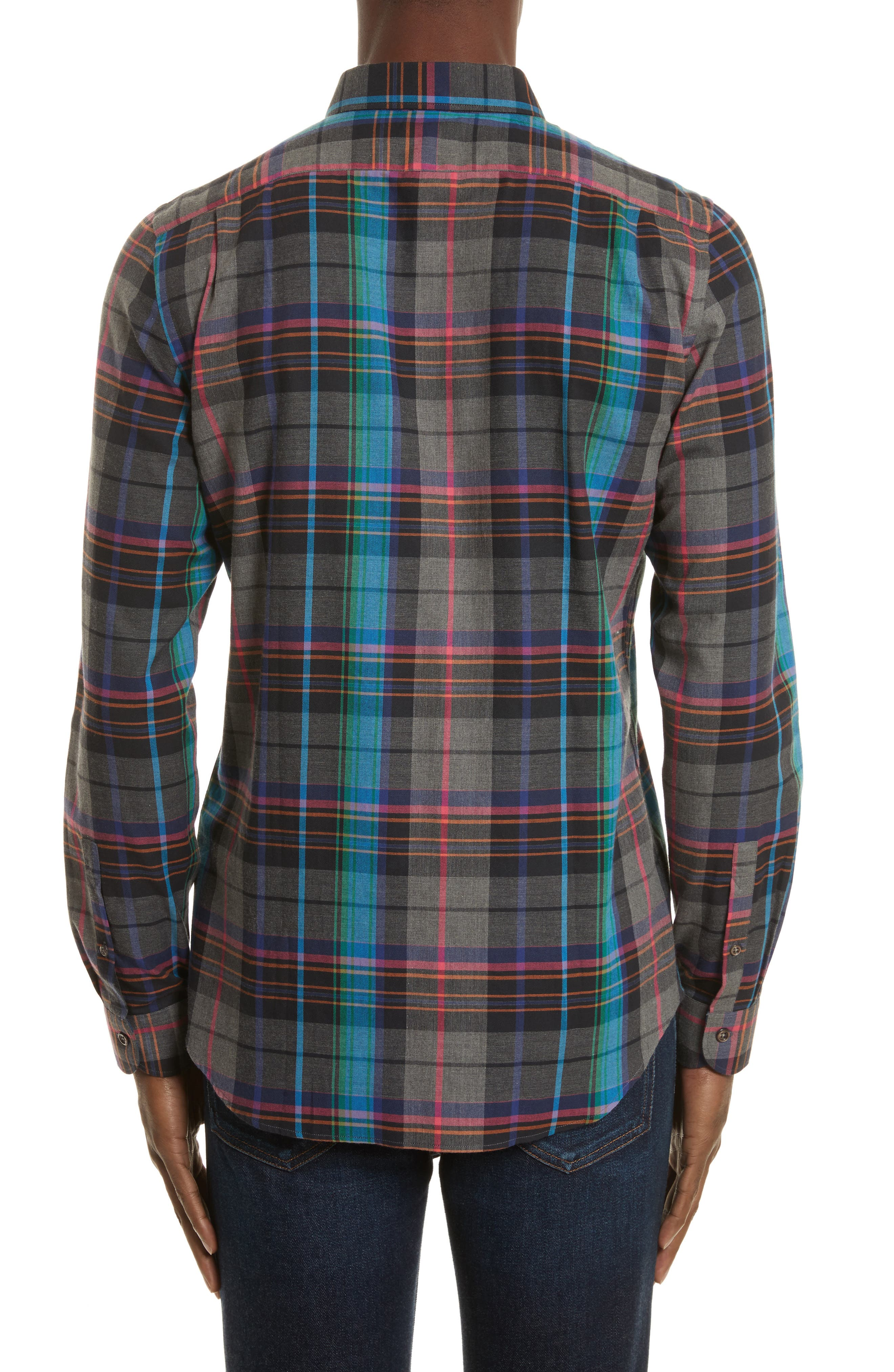 Alternate Image 2  - PS Paul Smith Plaid Woven Shirt