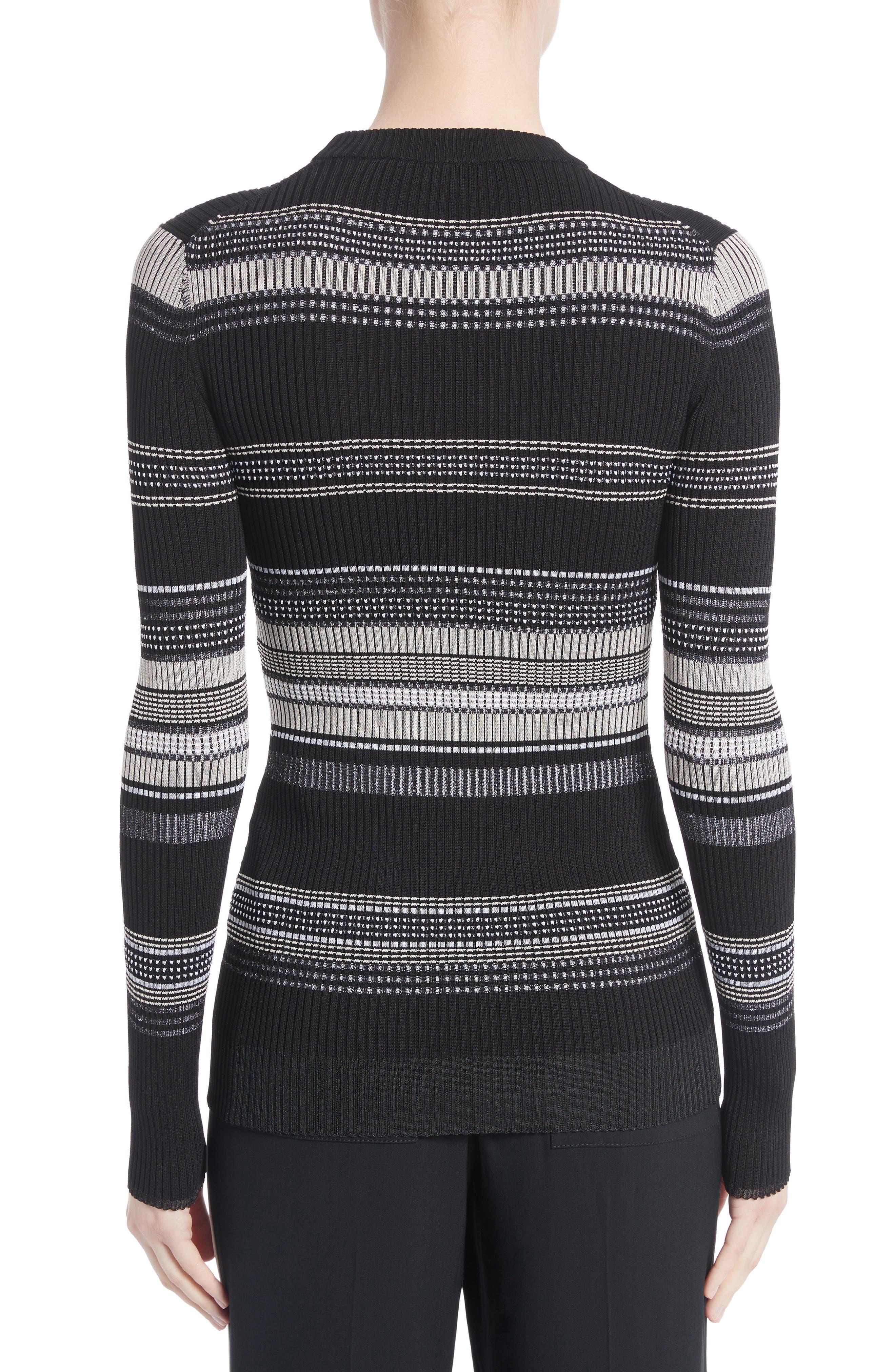 Alternate Image 2  - Proenza Schouler Stripe Rib Knit Top