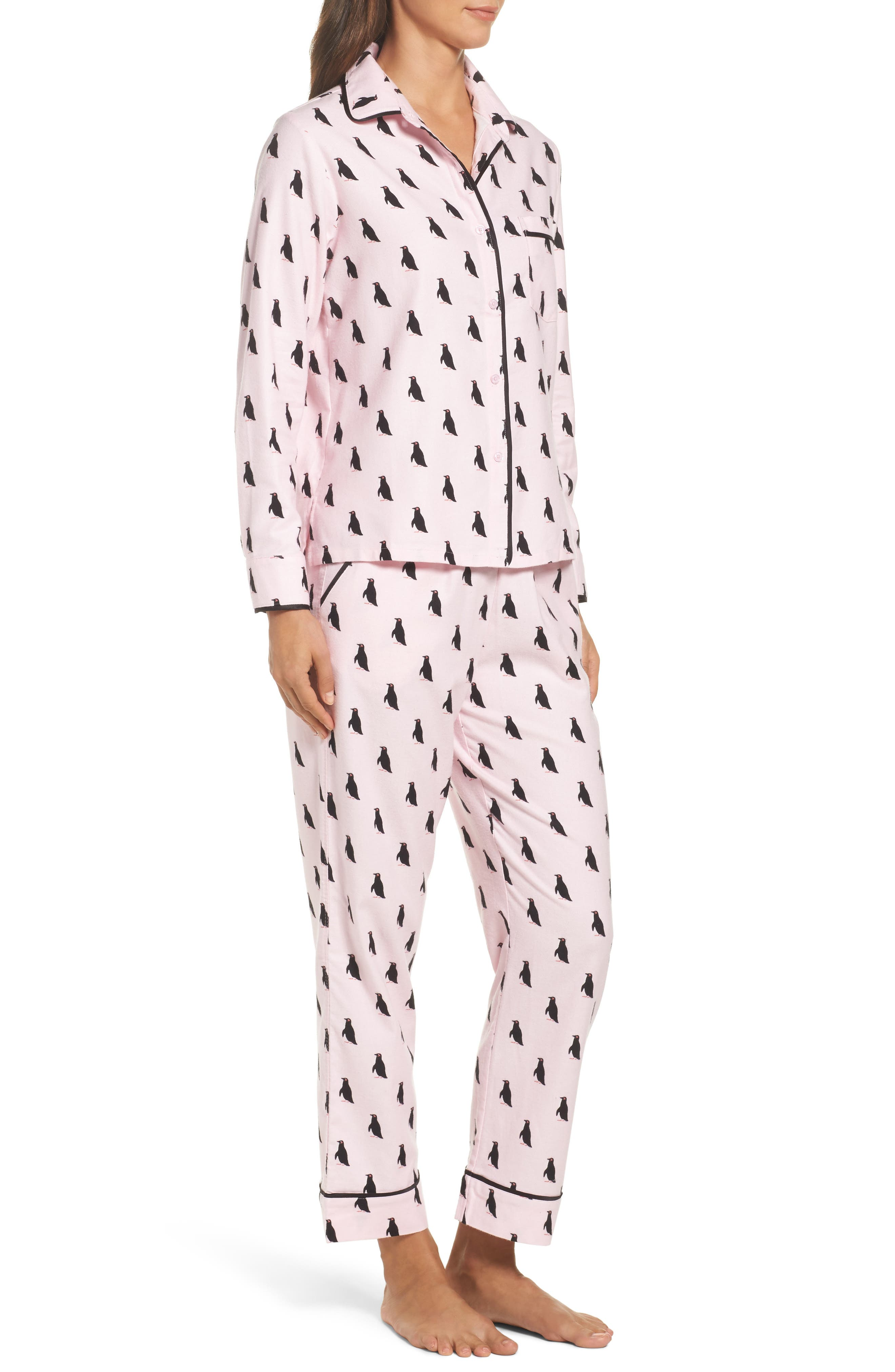 Alternate Image 3  - kate spade new york flannel pajamas