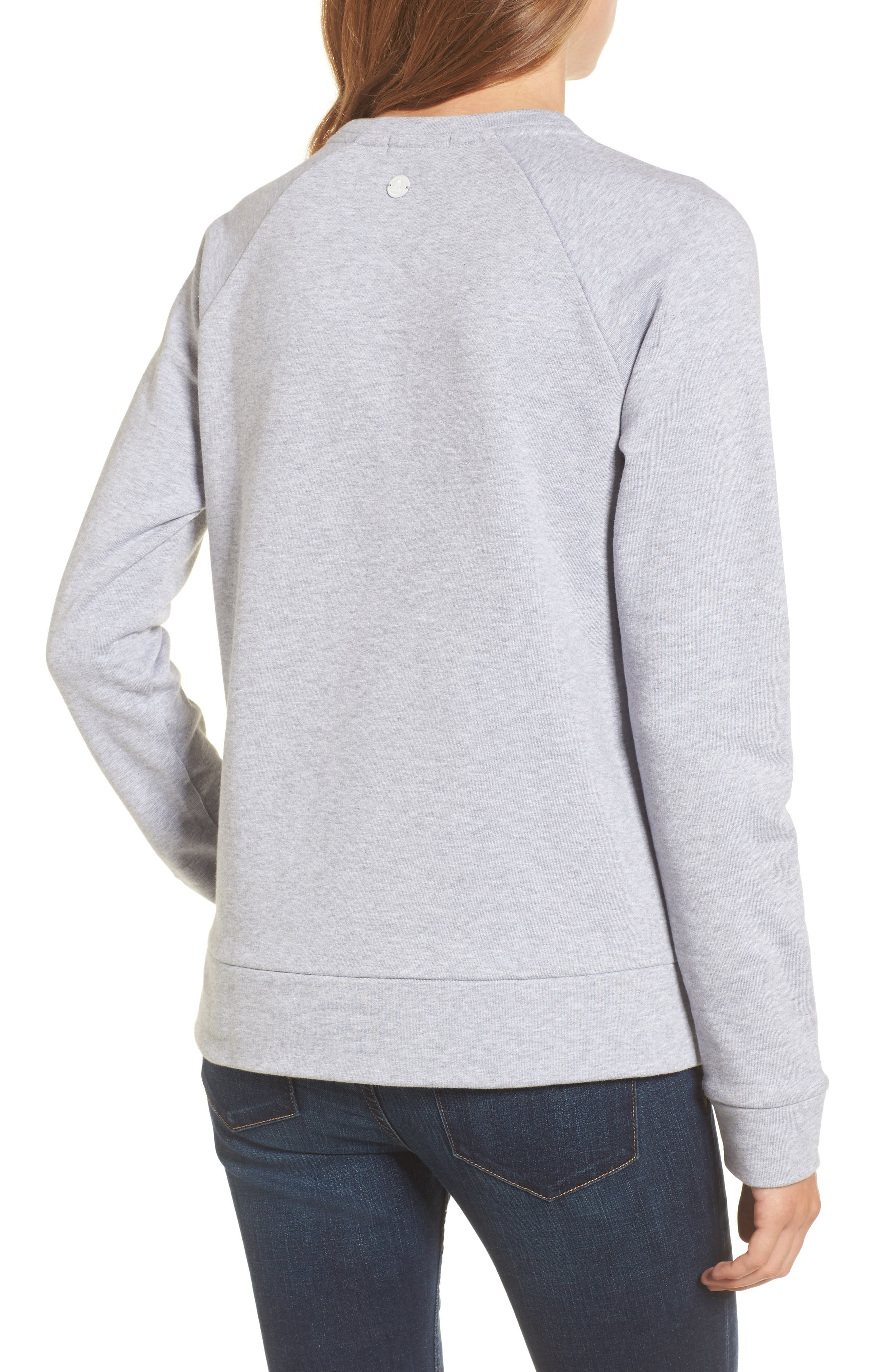 Wester Sweatshirt,                             Alternate thumbnail 2, color,                             Light Grey