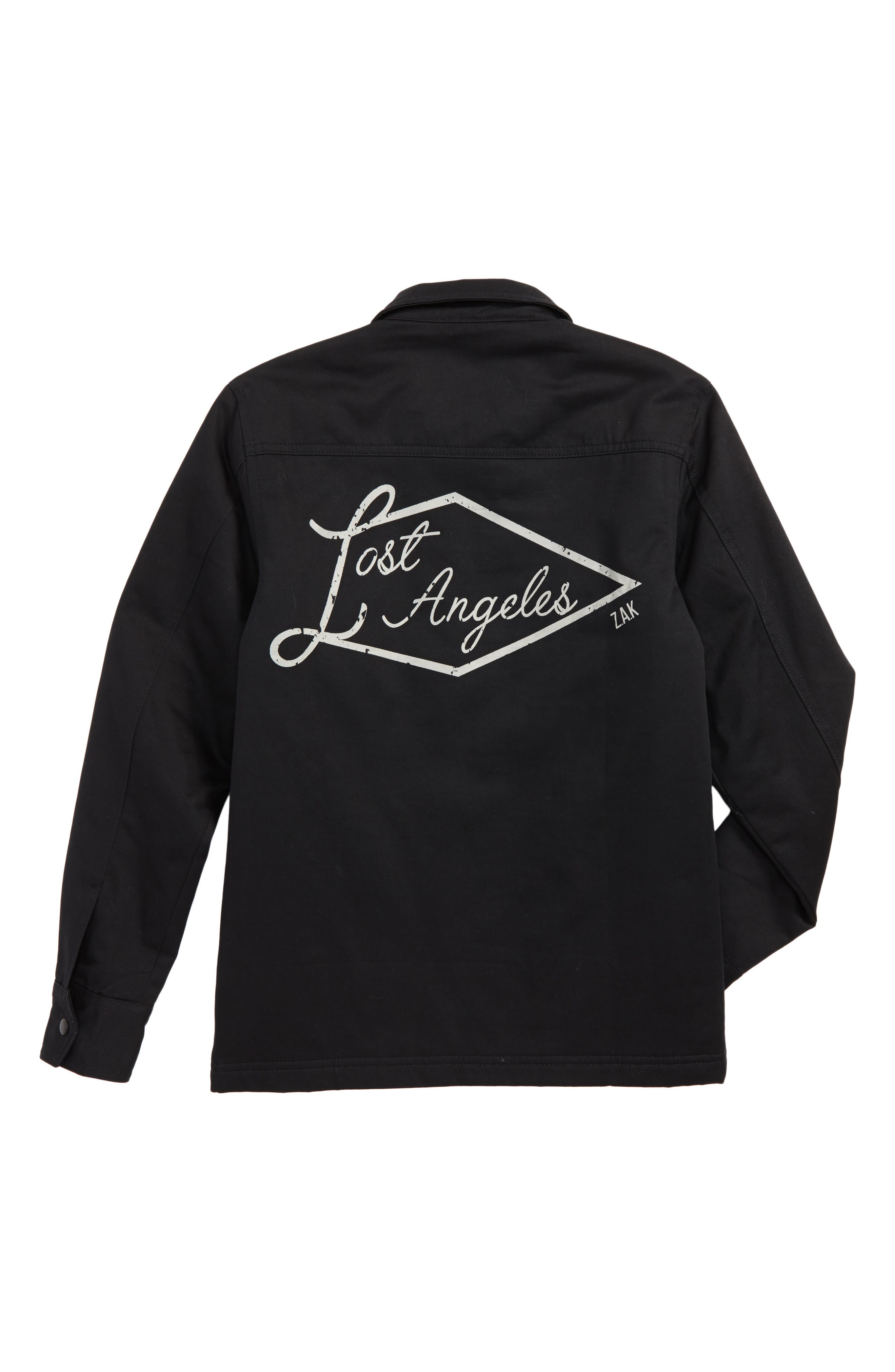 Lost Angeles Jacket,                             Alternate thumbnail 2, color,                             Black