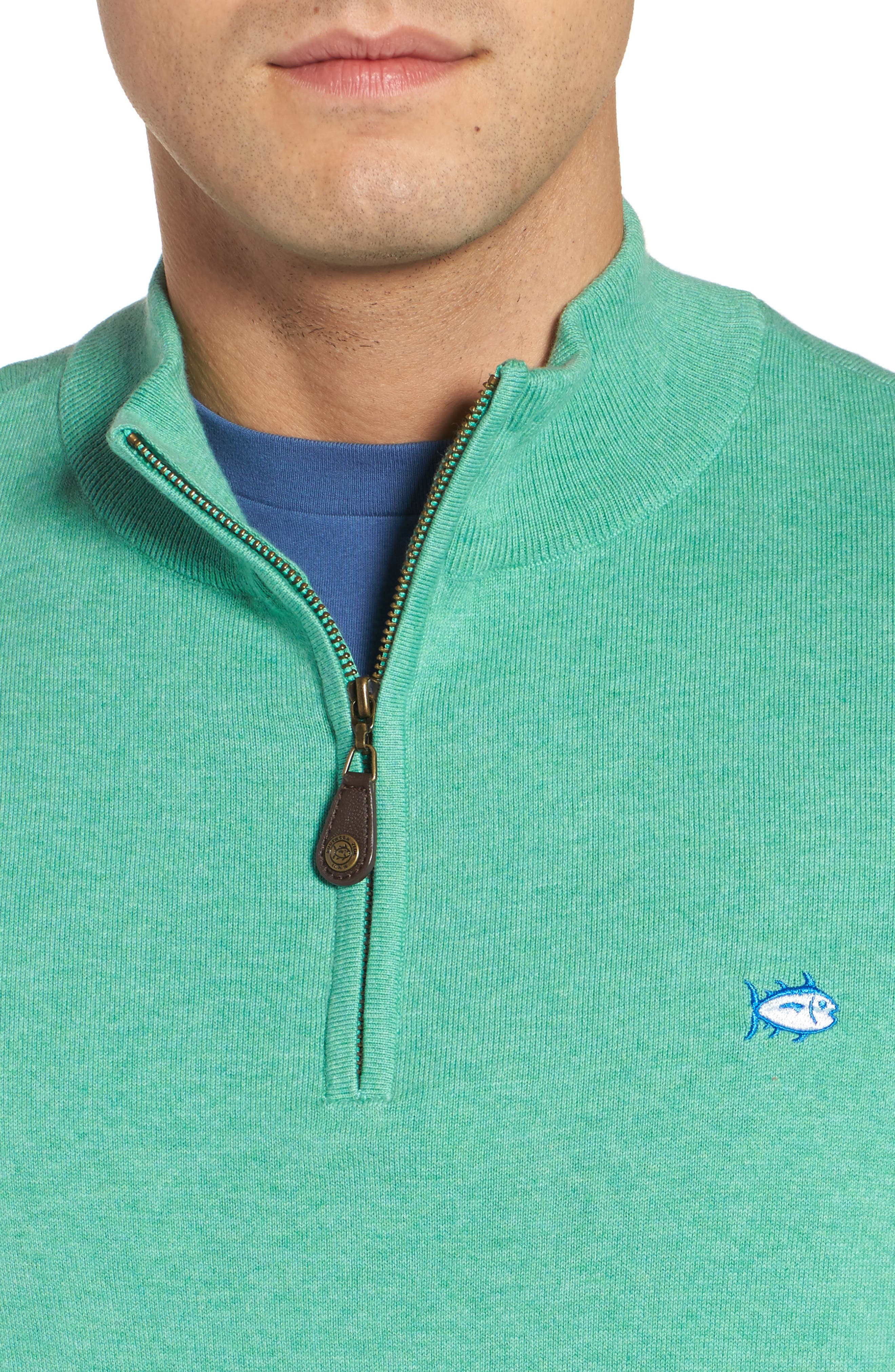 Alternate Image 4  - Southern Tide Marina Cay Quarter Zip Pullover
