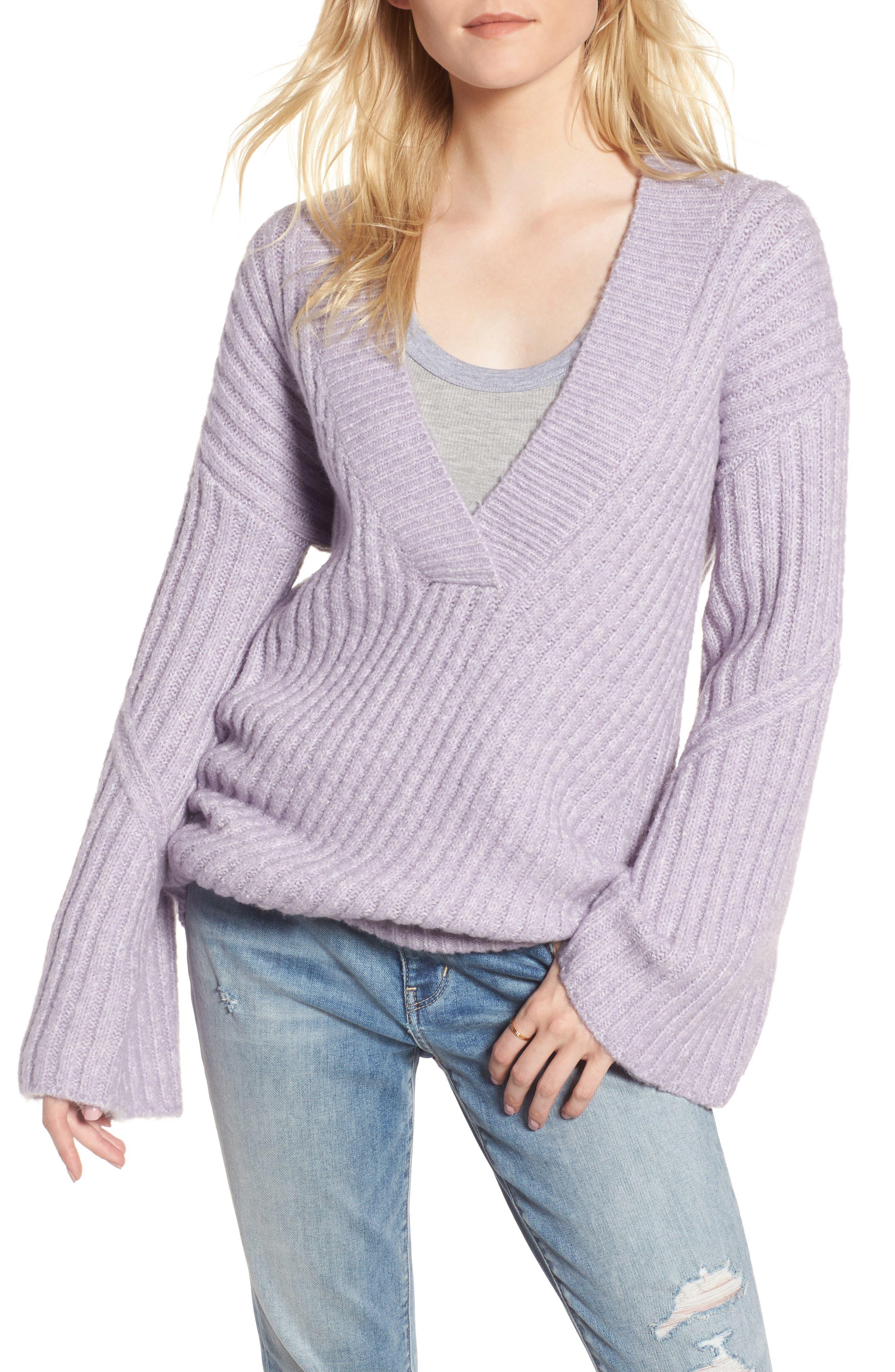Treasure & Bond Bell Sleeve Sweater