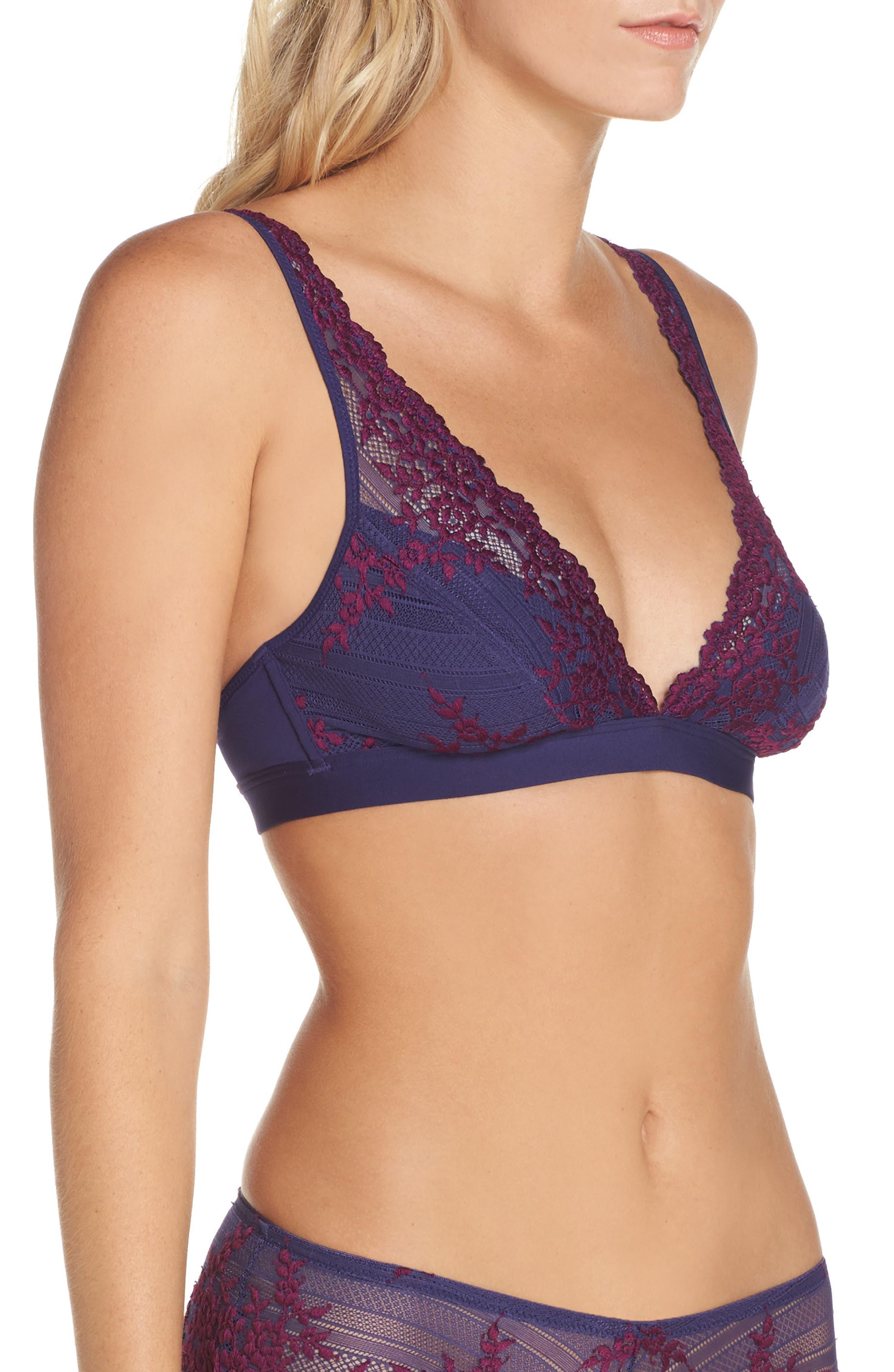 Alternate Image 4  - Wacoal 'Embrace Lace' Deep-V Bralette