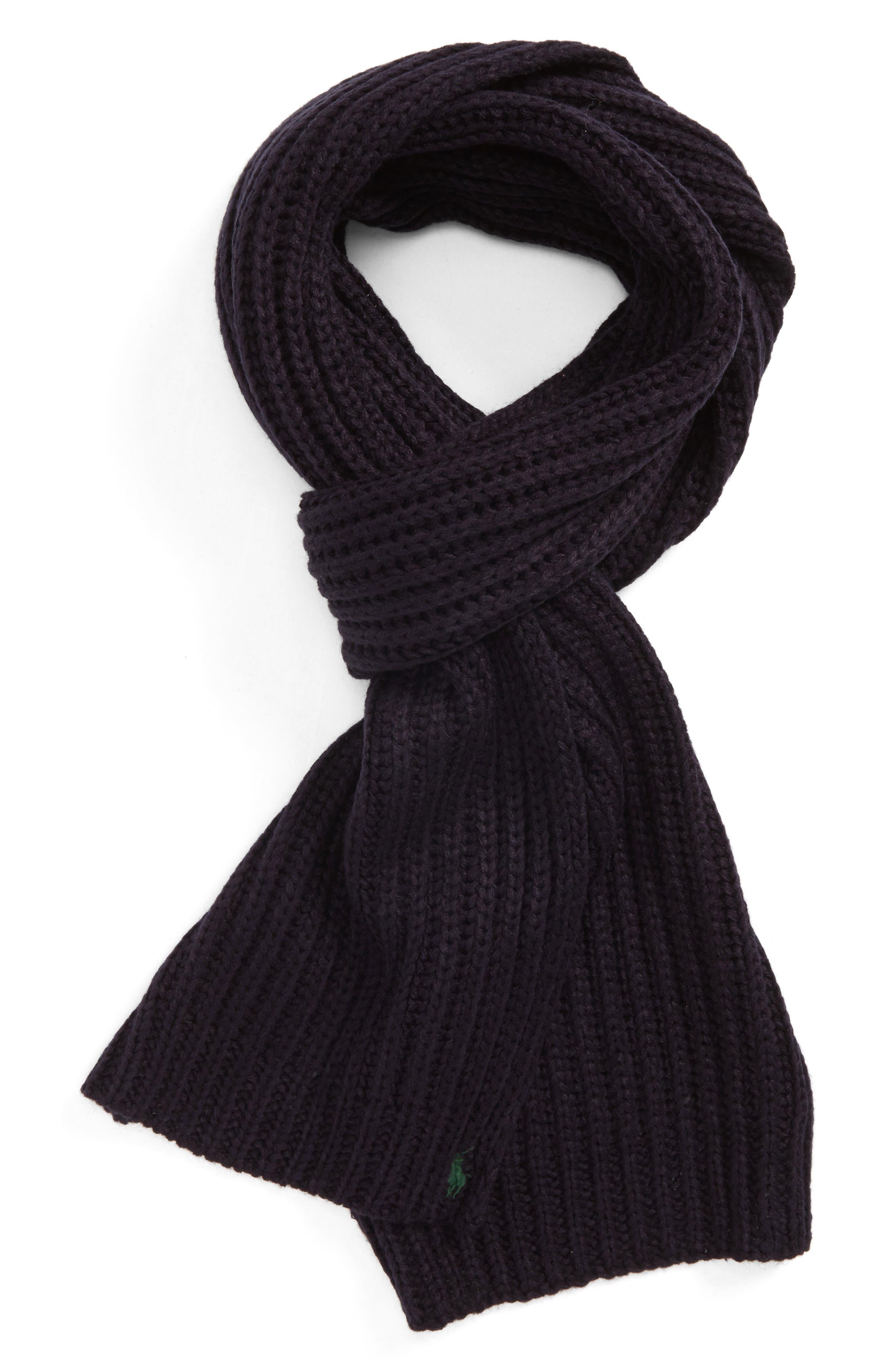 Polo Ralph Lauren Chunky Rib Knit Scarf