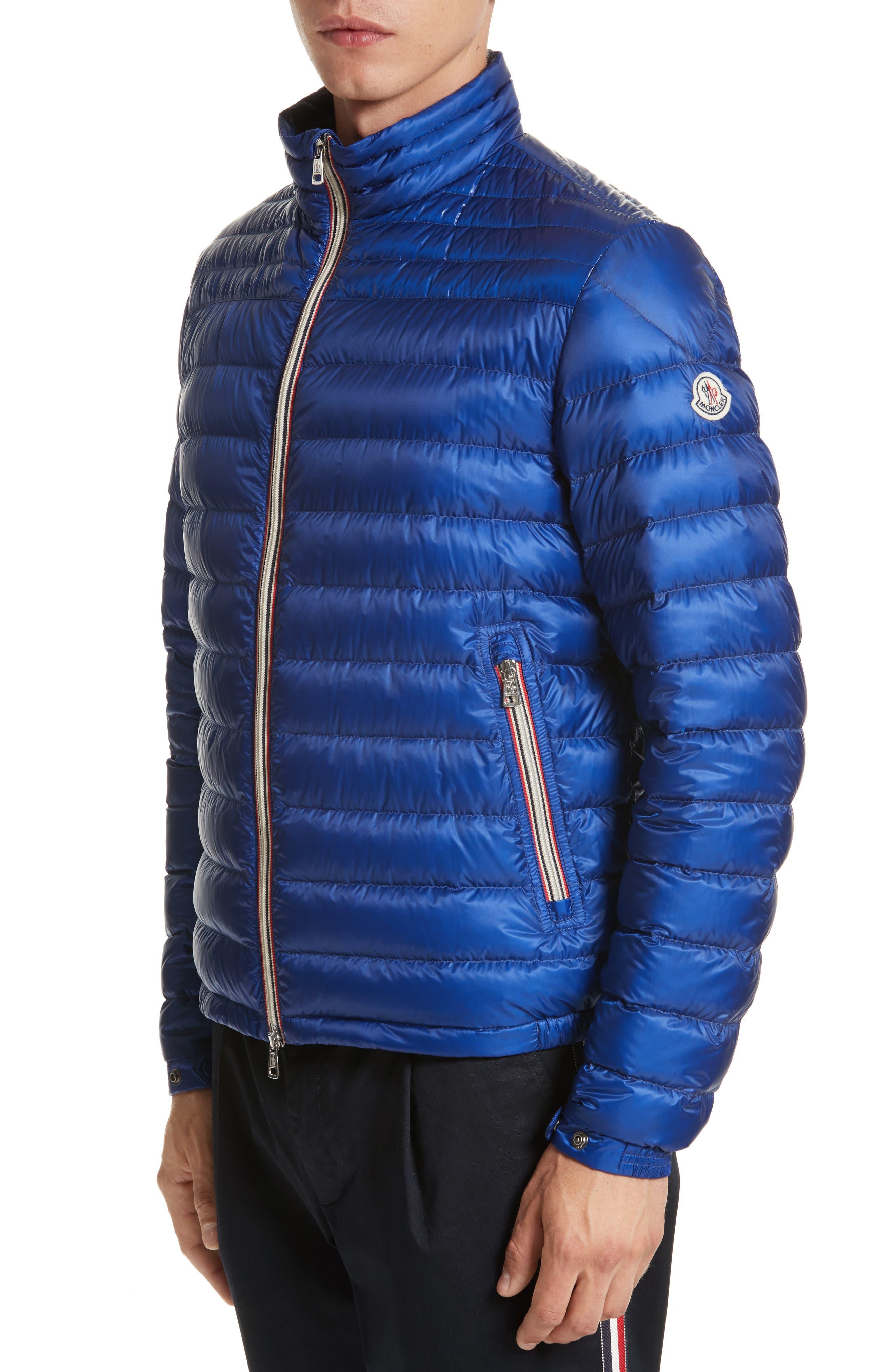 Daniel Packable Down Jacket,                         Main,                         color, Bright Blue